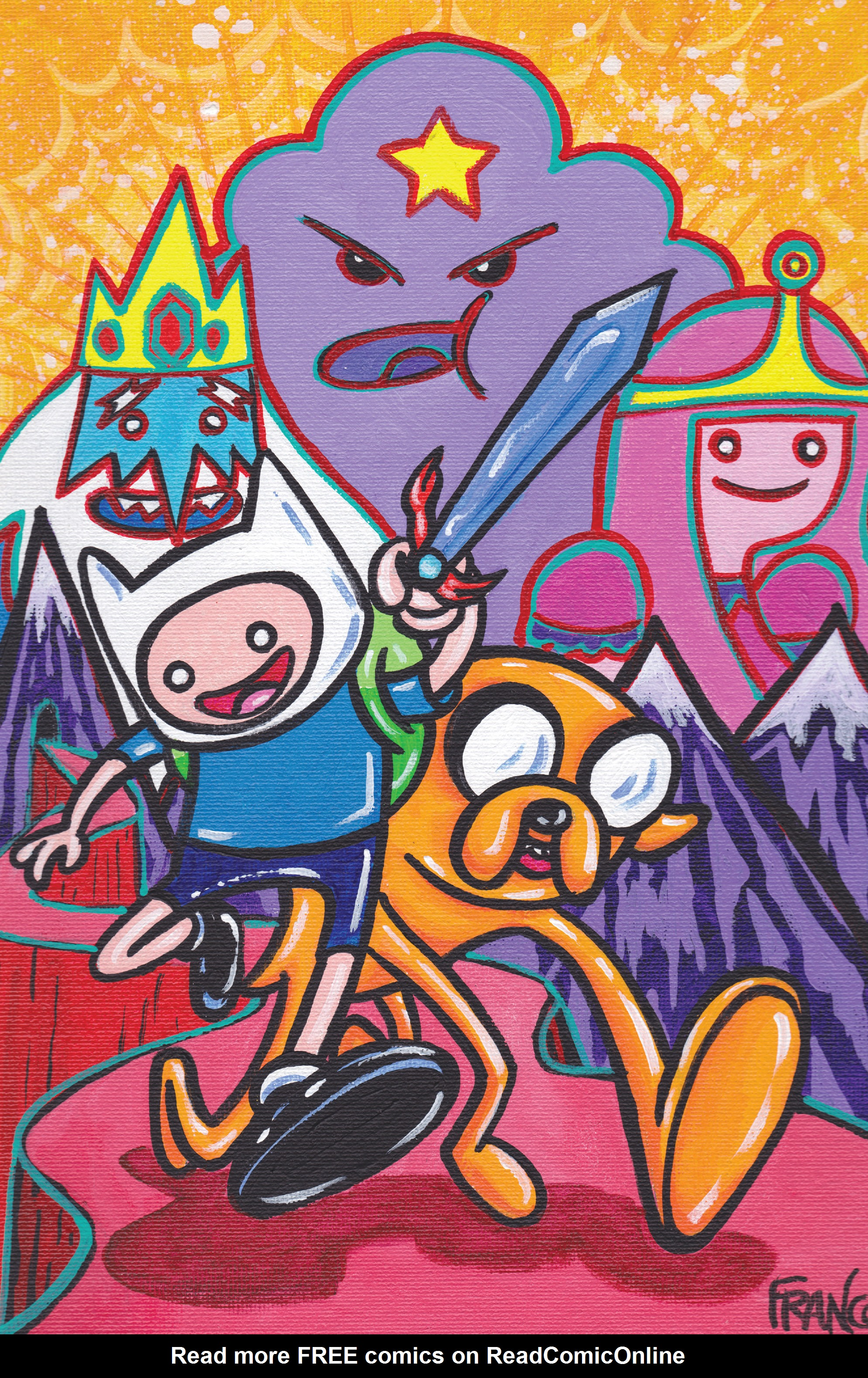 Read online Adventure Time comic -  Issue #7 - 4