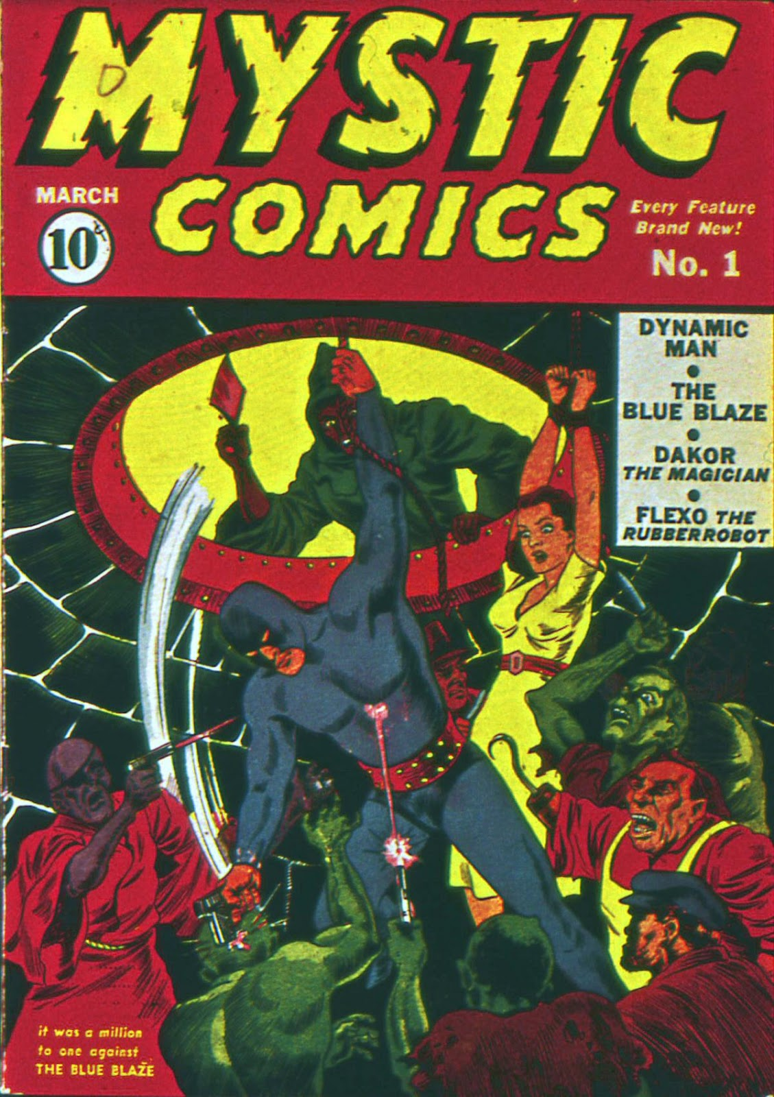 Mystic Comics (1940) issue 1 - Page 1