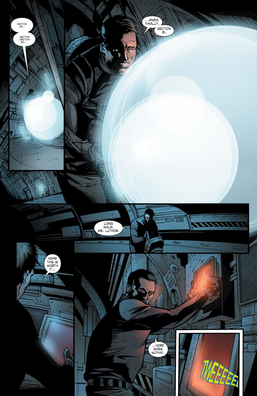 Read online Smallville Season 11 [II] comic -  Issue # TPB 8 - 54