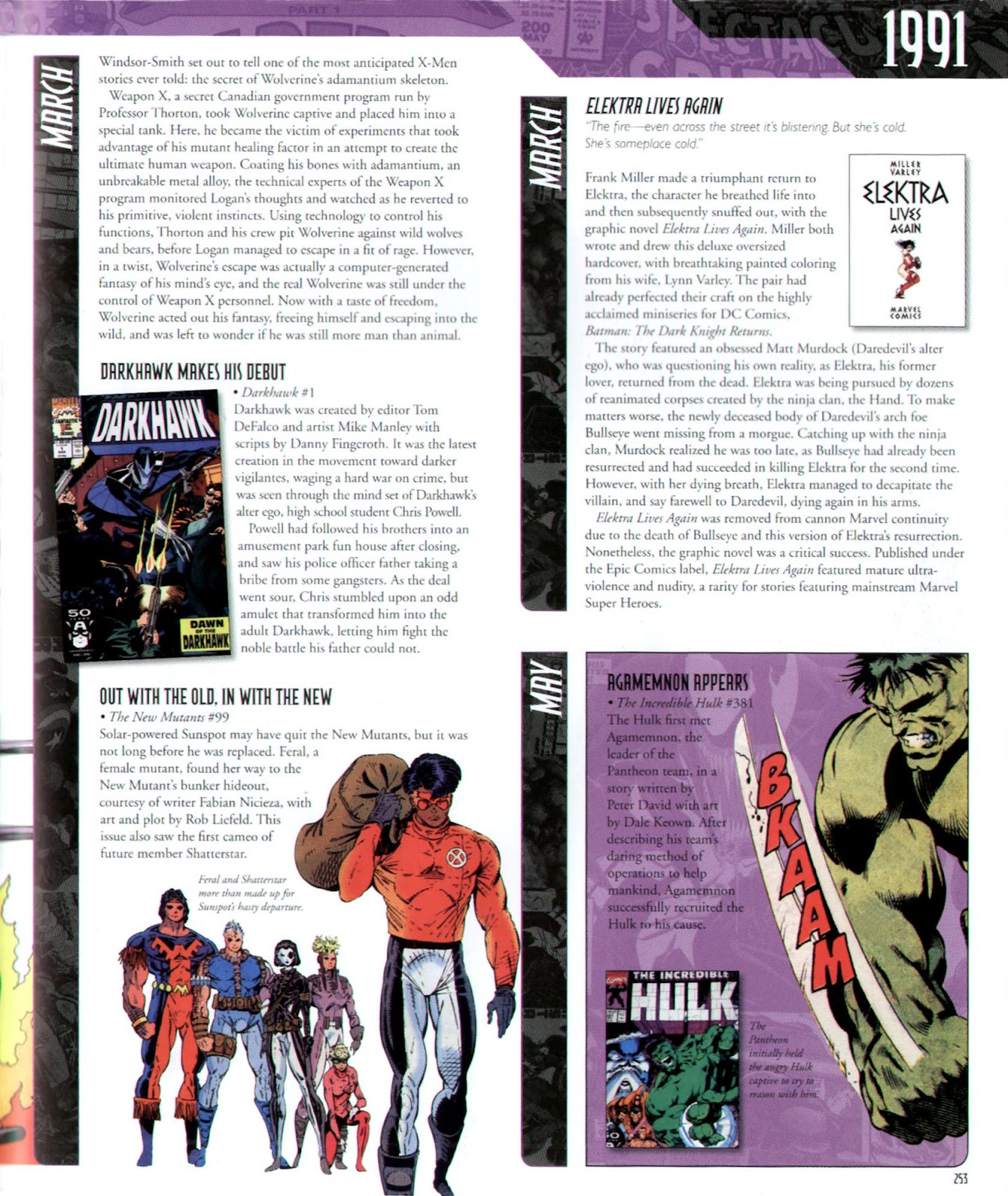 Read online Marvel Chronicle comic -  Issue # TPB (Part 3) - 43