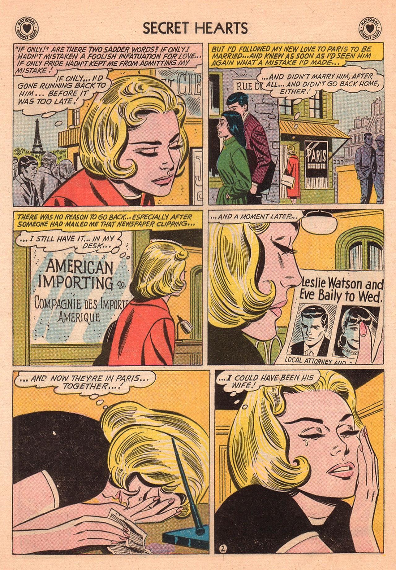 Read online Secret Hearts comic -  Issue #74 - 12