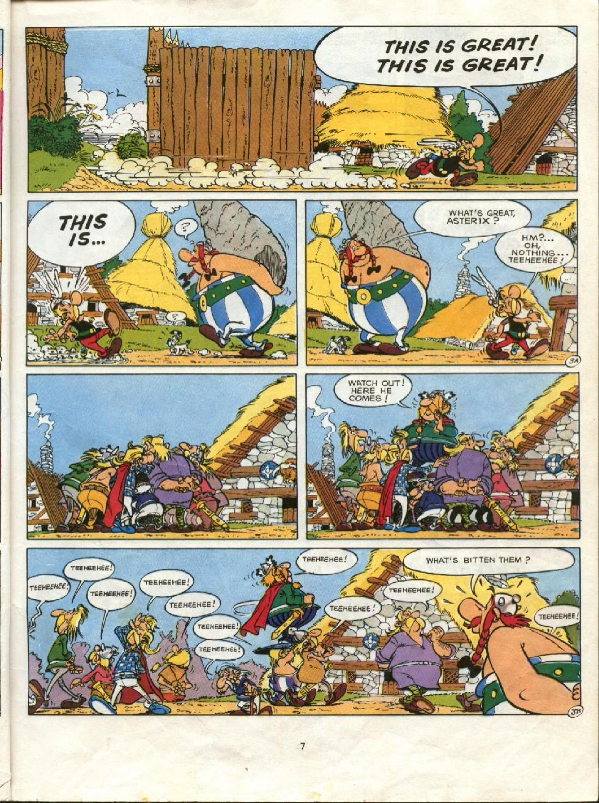 Read online Asterix comic -  Issue #23 - 4