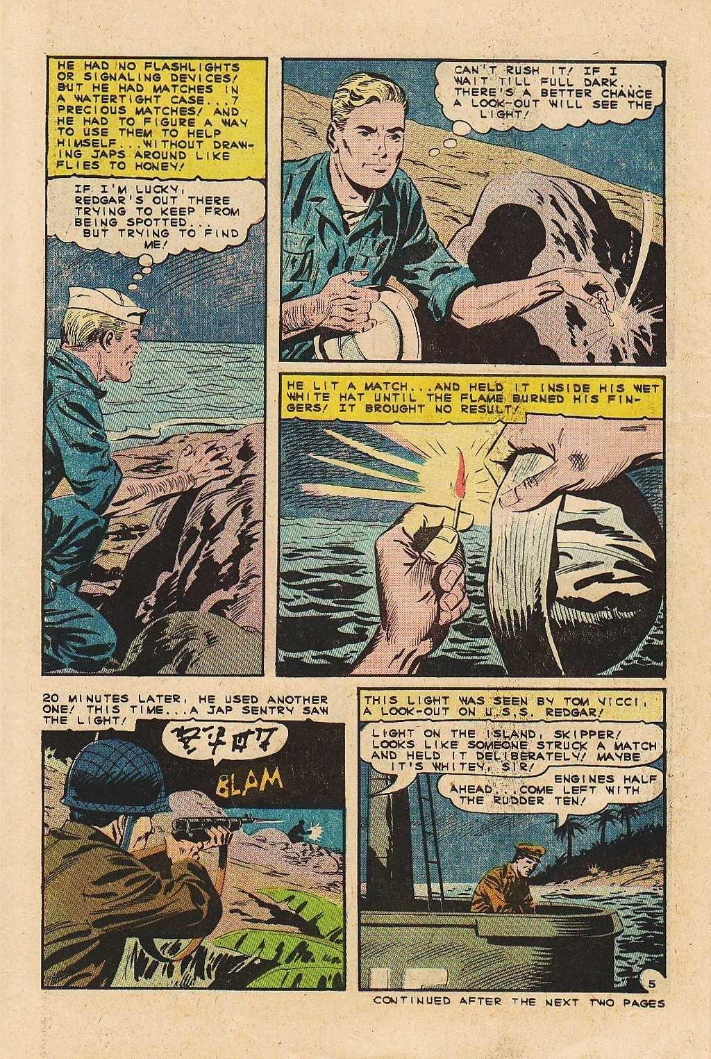 Read online Fightin' Navy comic -  Issue #121 - 22