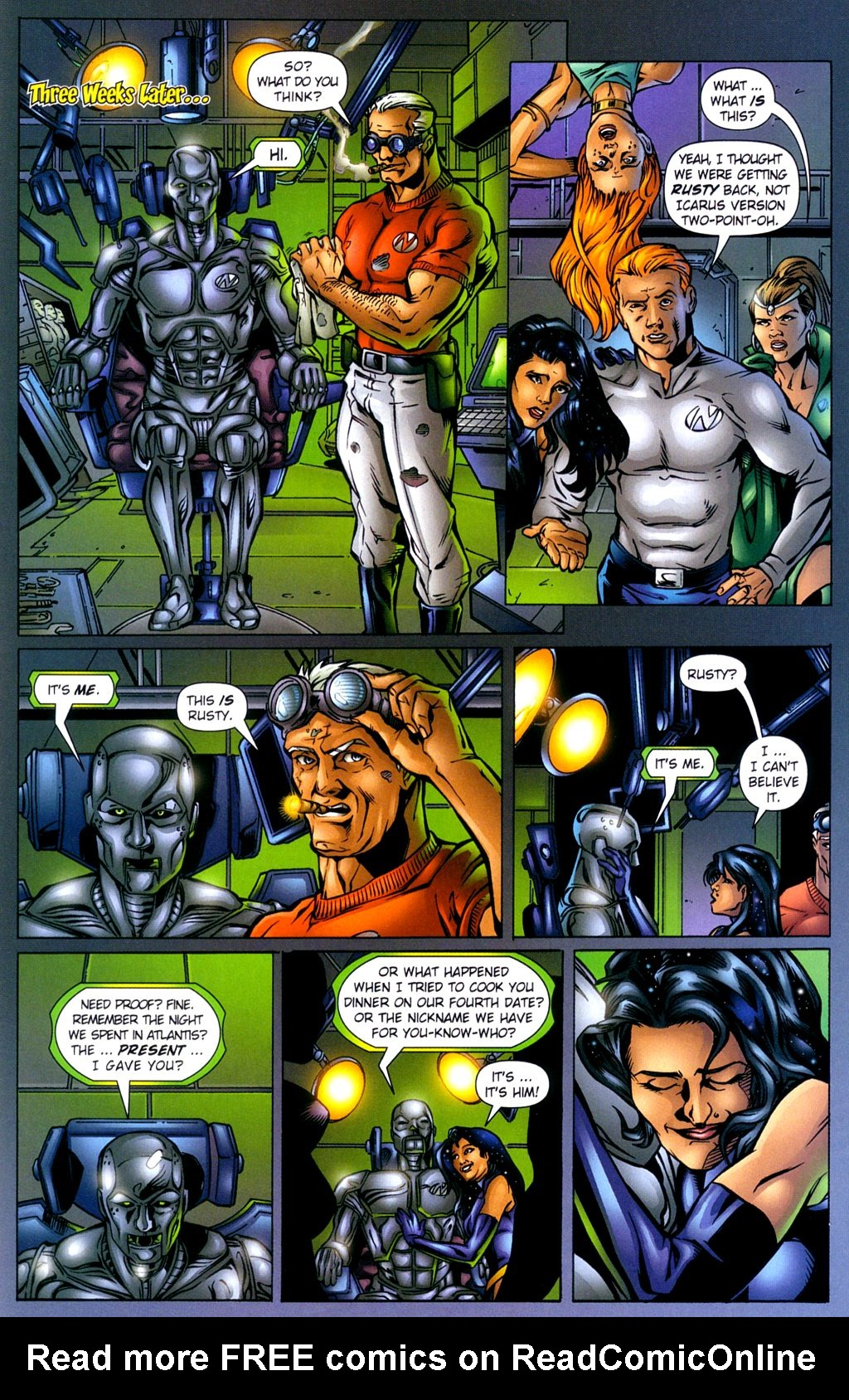 Read online Noble Causes (2002) comic -  Issue #2 - 26