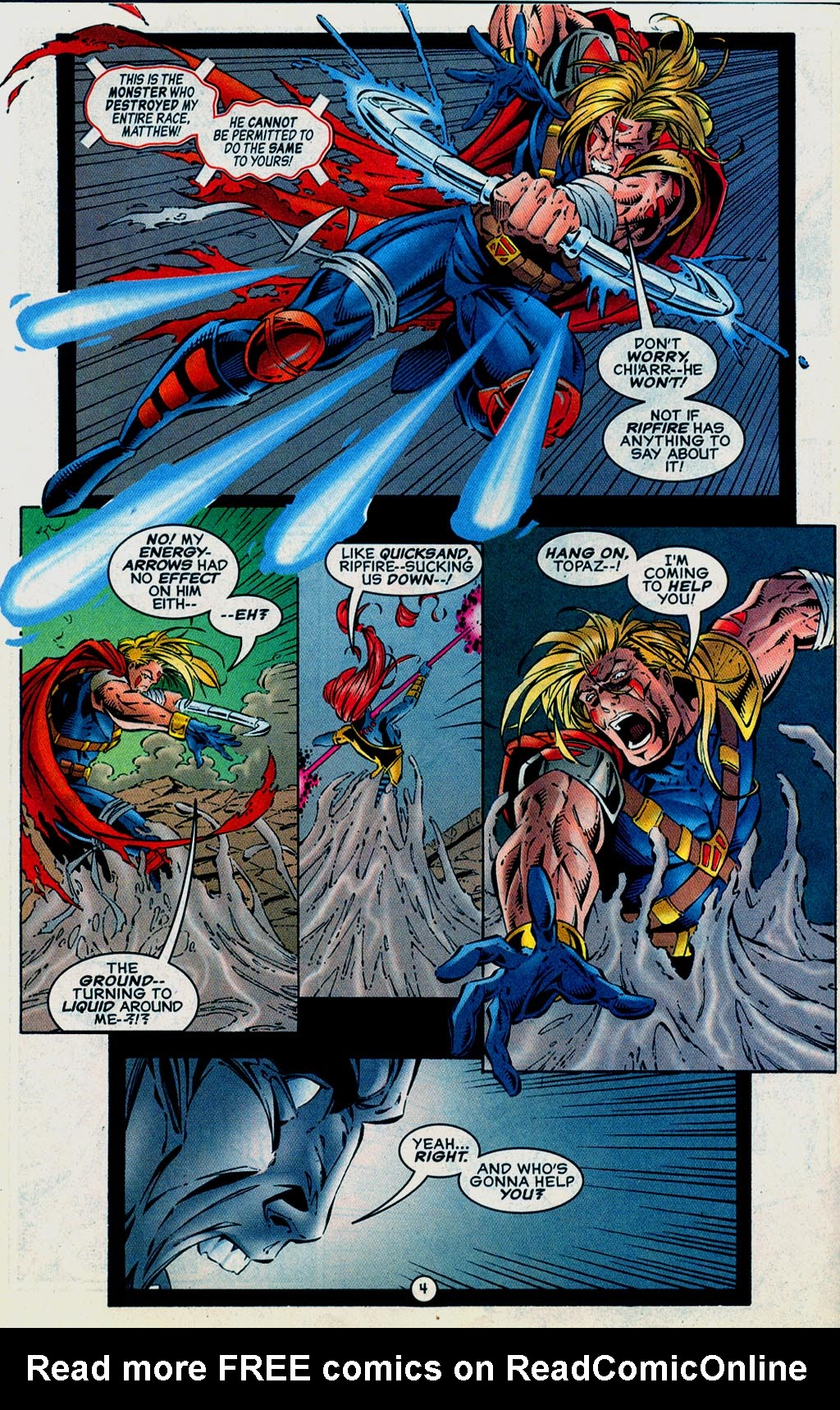 Read online UltraForce (1995) comic -  Issue #15 - 5