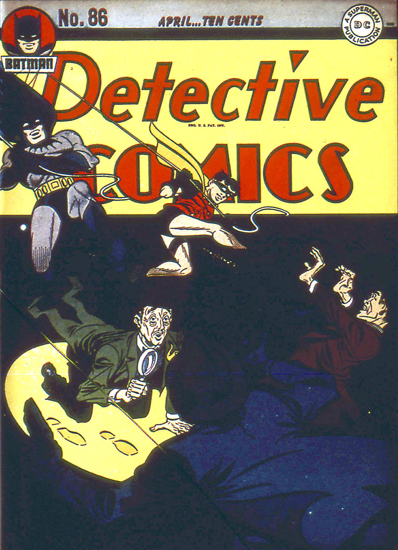 Read online Detective Comics (1937) comic -  Issue #86 - 1