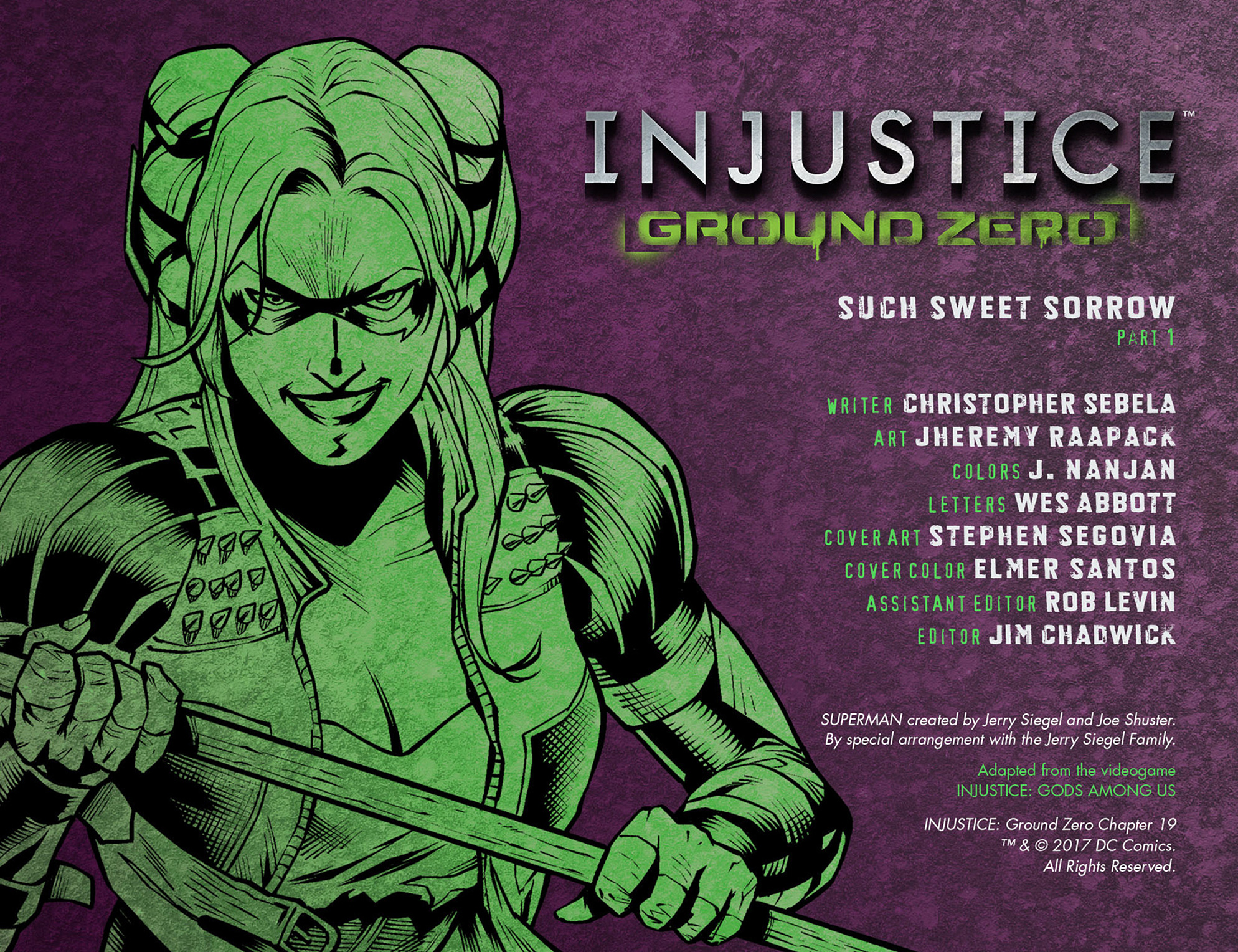 Read online Injustice: Ground Zero comic -  Issue #19 - 3