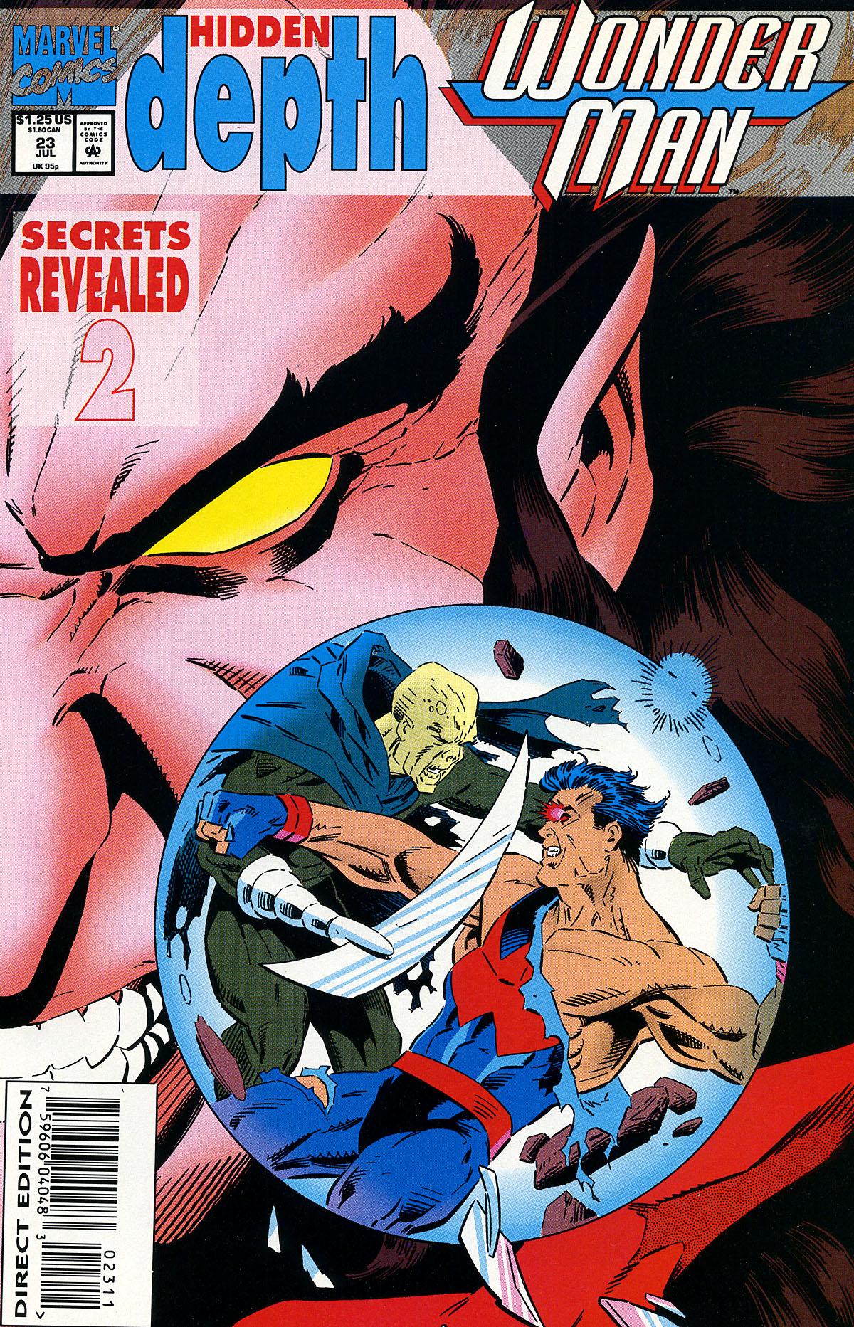 Read online Wonder Man (1991) comic -  Issue #23 - 1