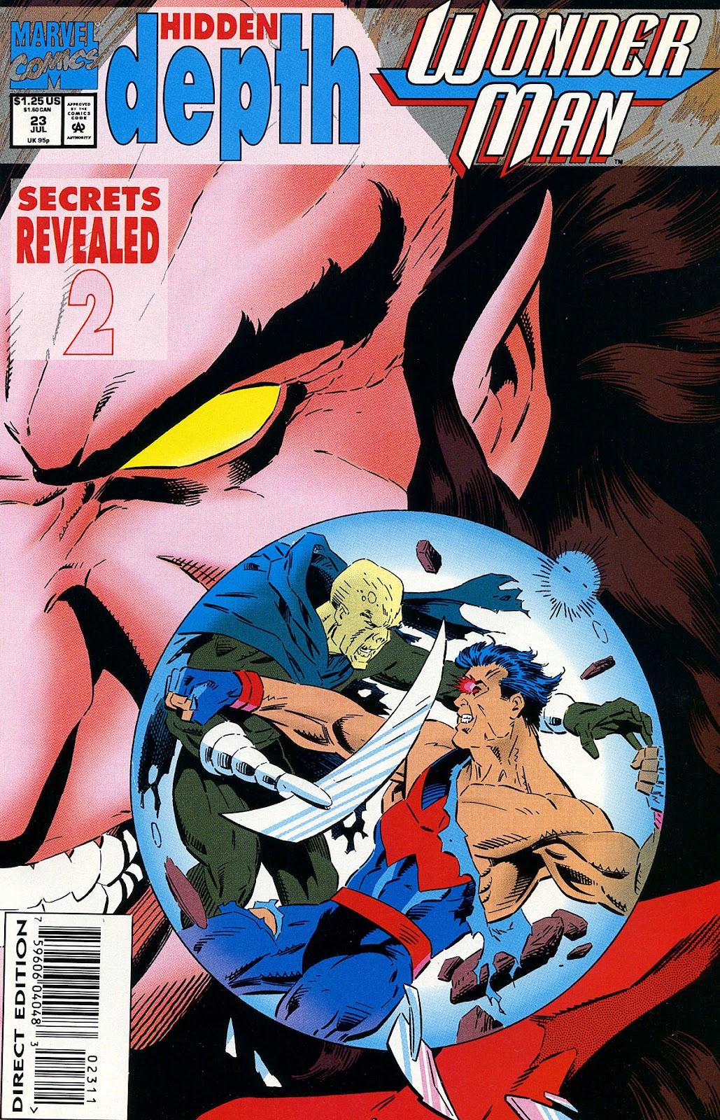 Wonder Man (1991) 23 Page 1