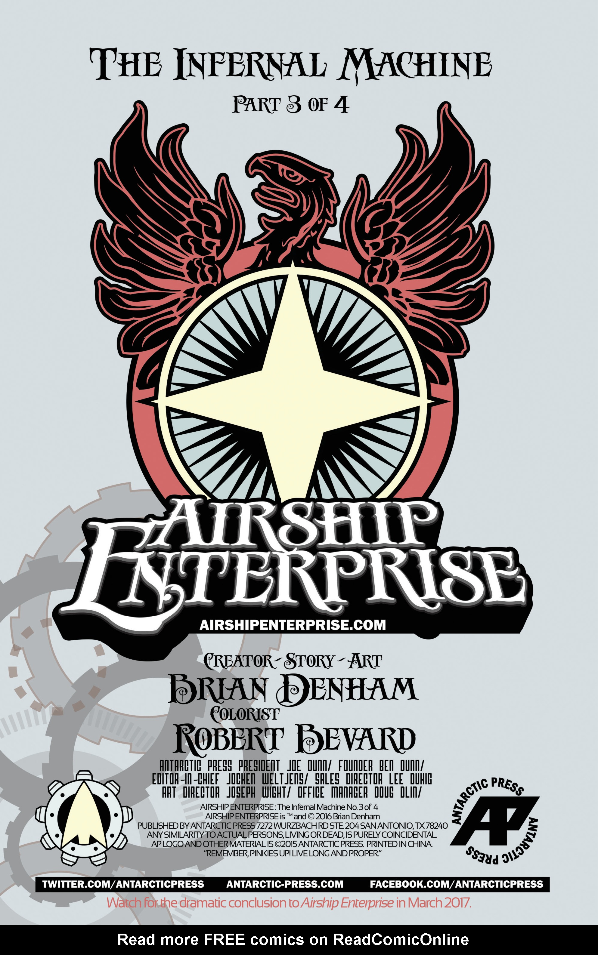 Read online Airship Enterprise: The Infernal Machine comic -  Issue #3 - 2