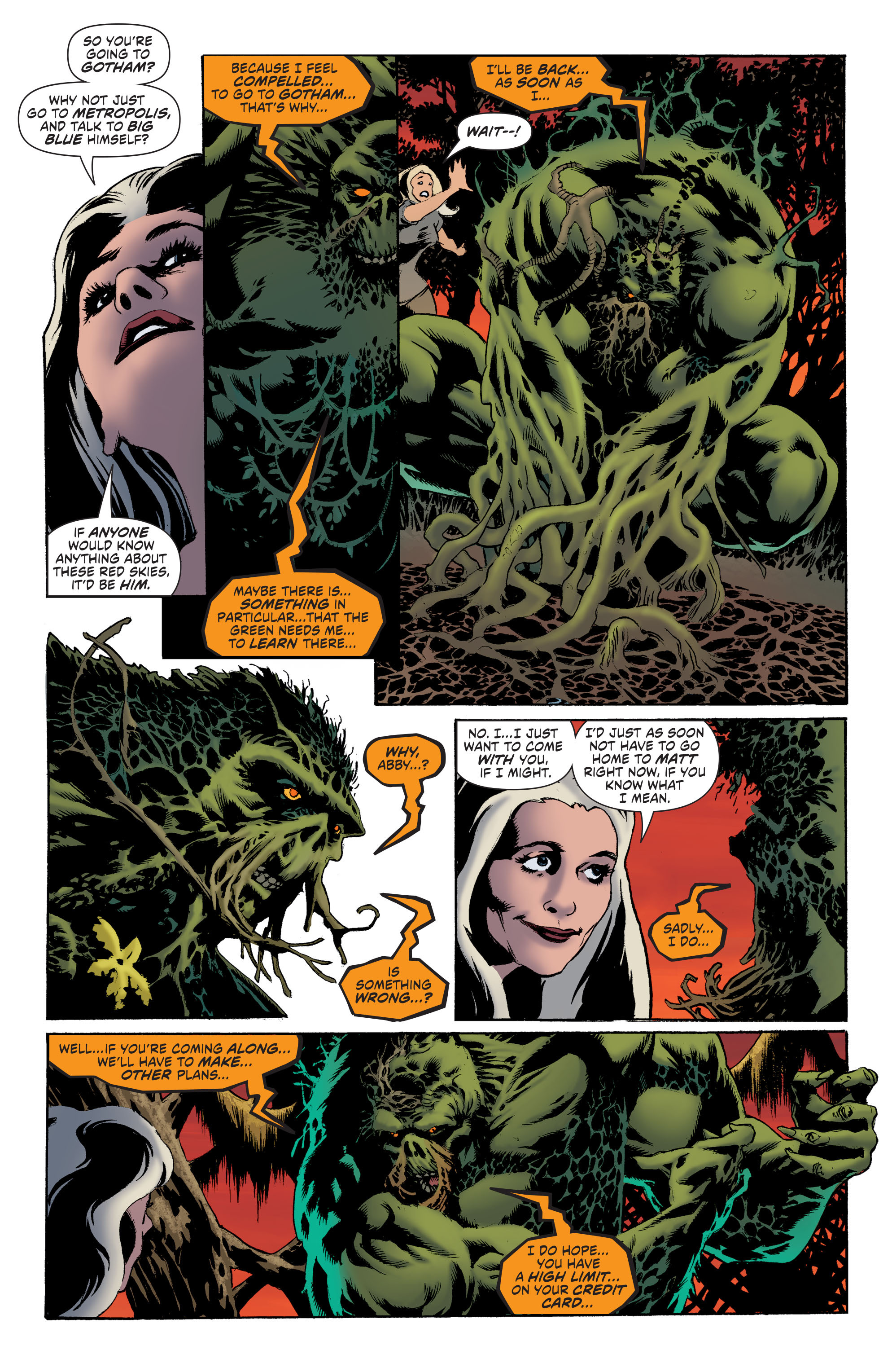 Read online Convergence Swamp Thing comic -  Issue #1 - 9