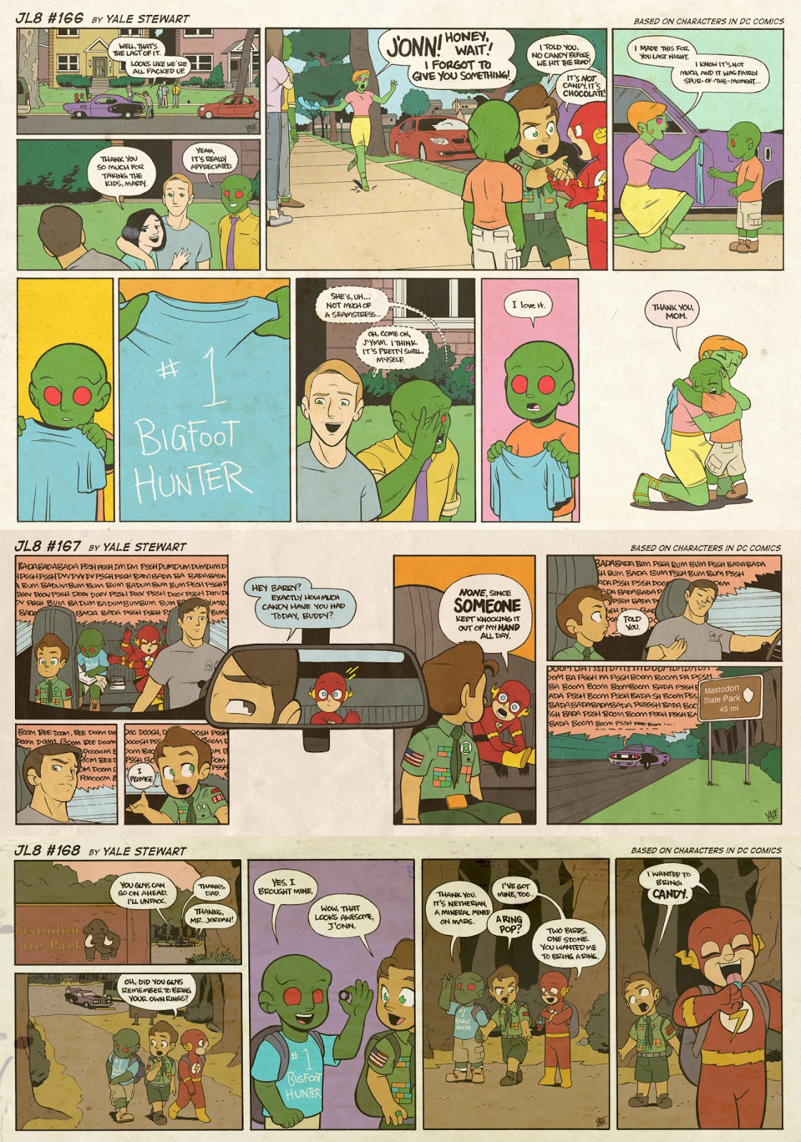 Read online JL8 – The Complete Collection comic -  Issue # TPB (Part 1) - 87