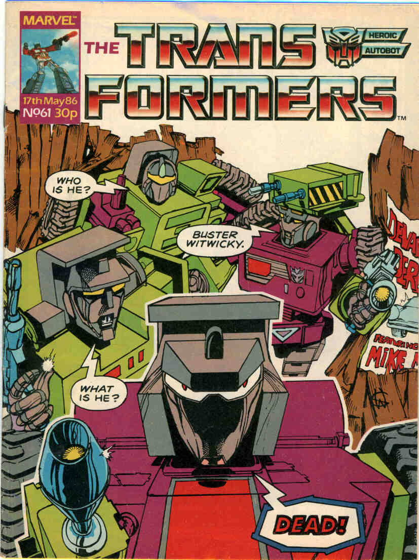 The Transformers (UK) 61 Page 1