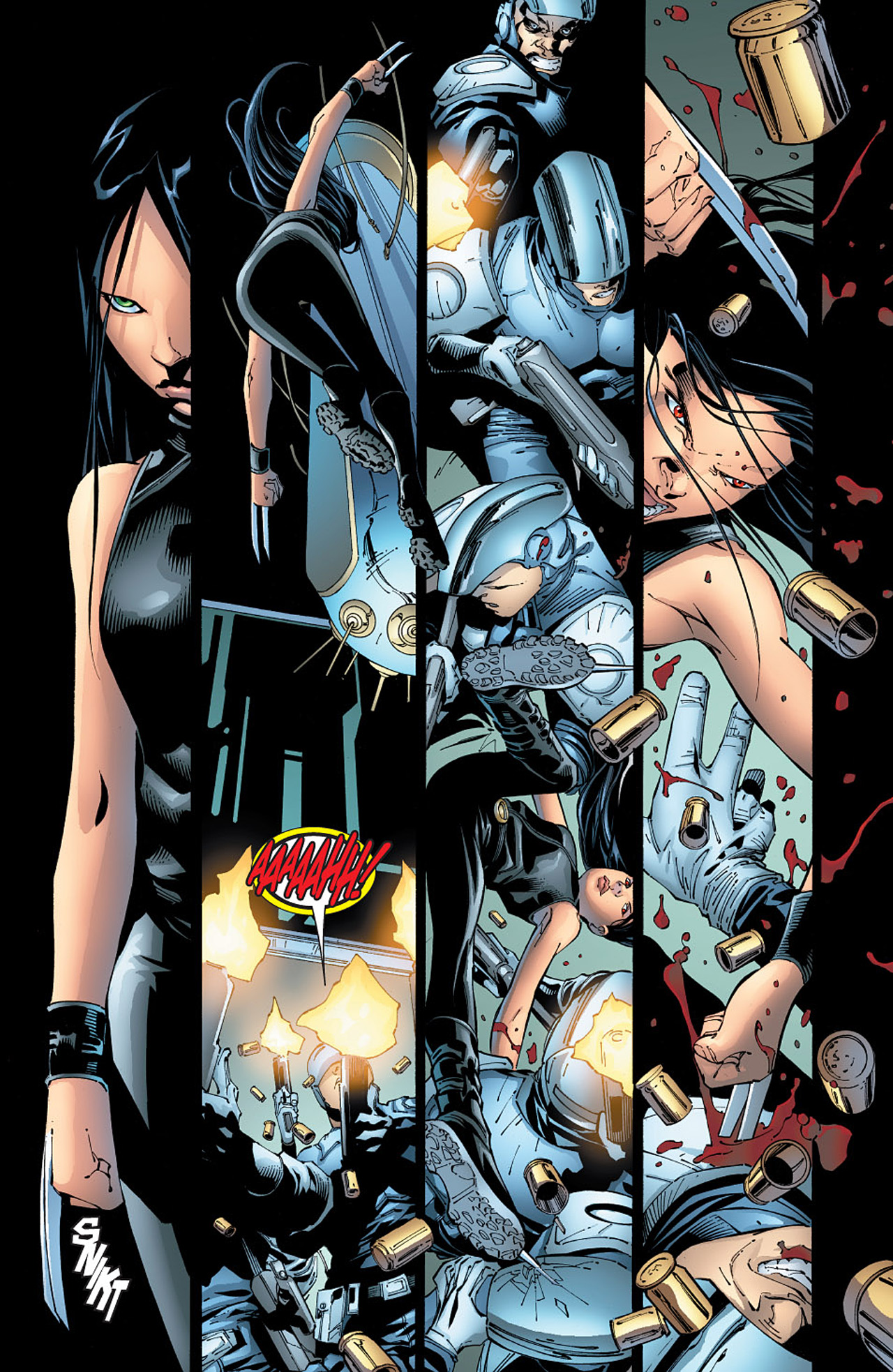 Read online X-23 (2005) comic -  Issue #6 - 8