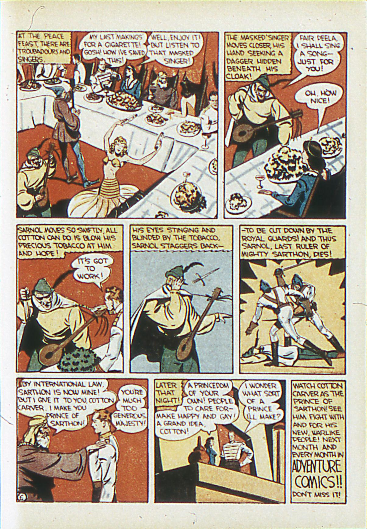 Read online Adventure Comics (1938) comic -  Issue #62 - 54