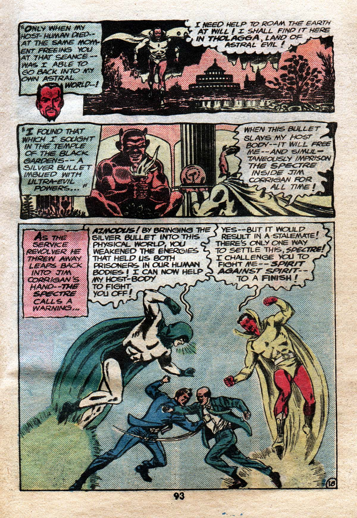 Read online Adventure Comics (1938) comic -  Issue #491 - 92