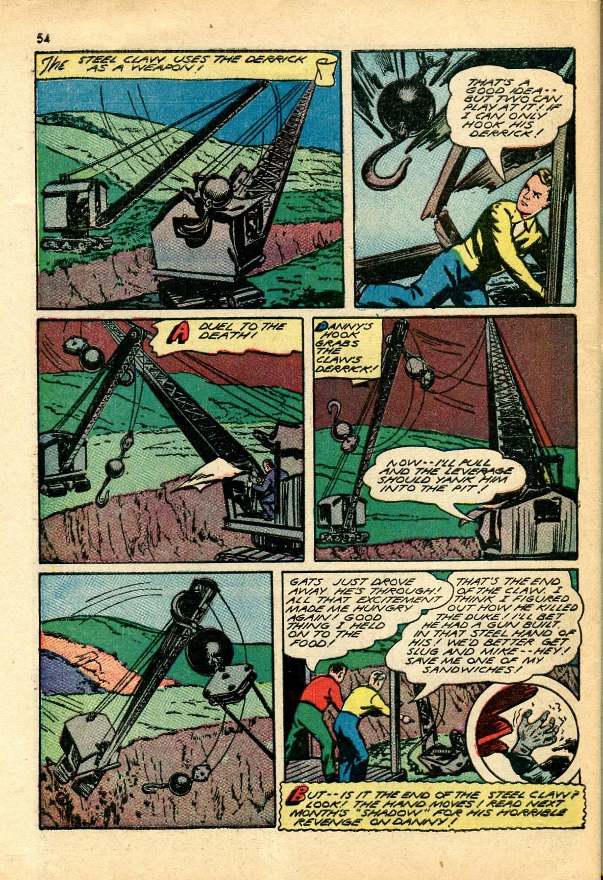 Read online Shadow Comics comic -  Issue #24 - 46