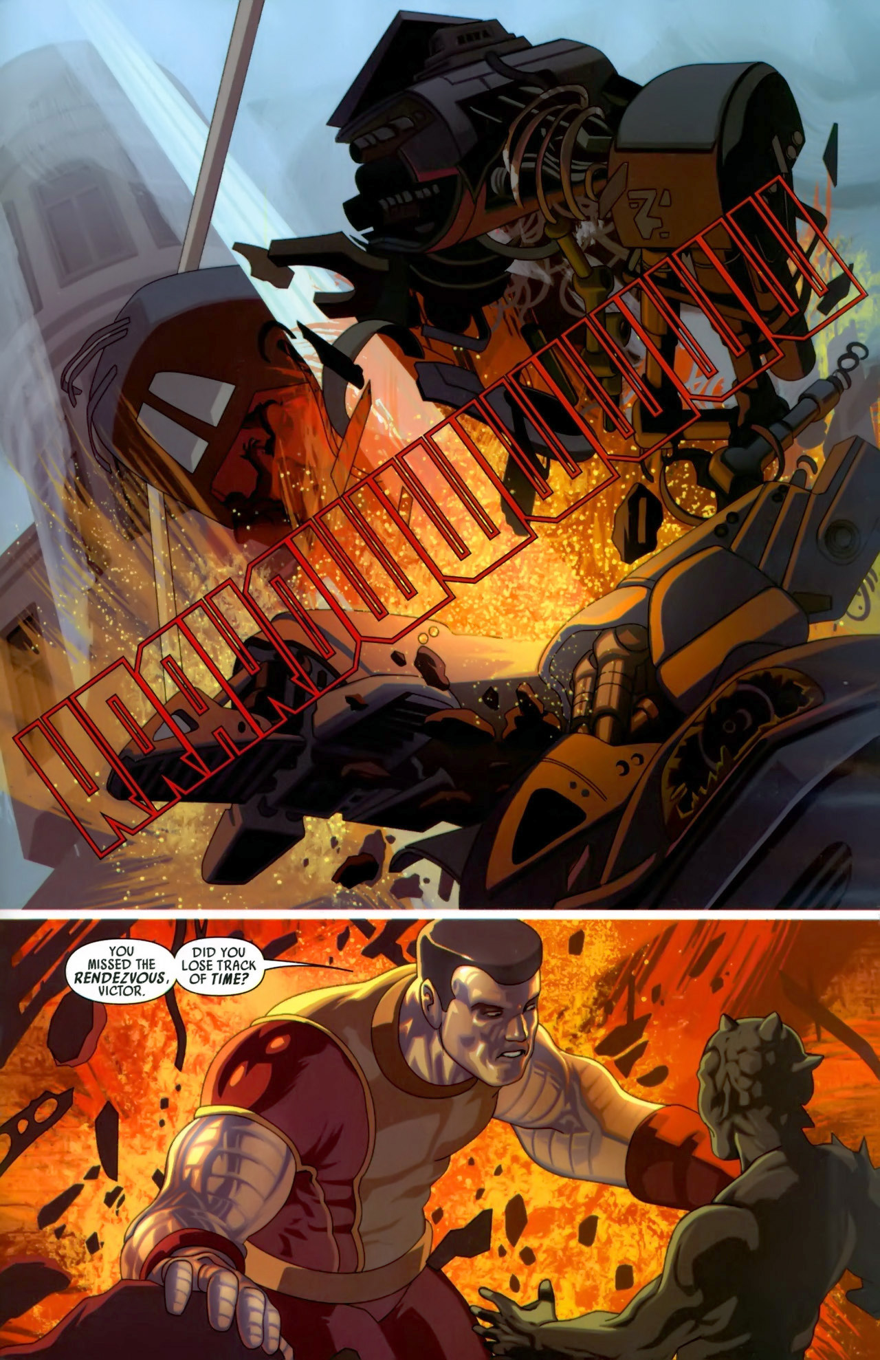 Read online Secret Invasion: X-Men comic -  Issue #3 - 17