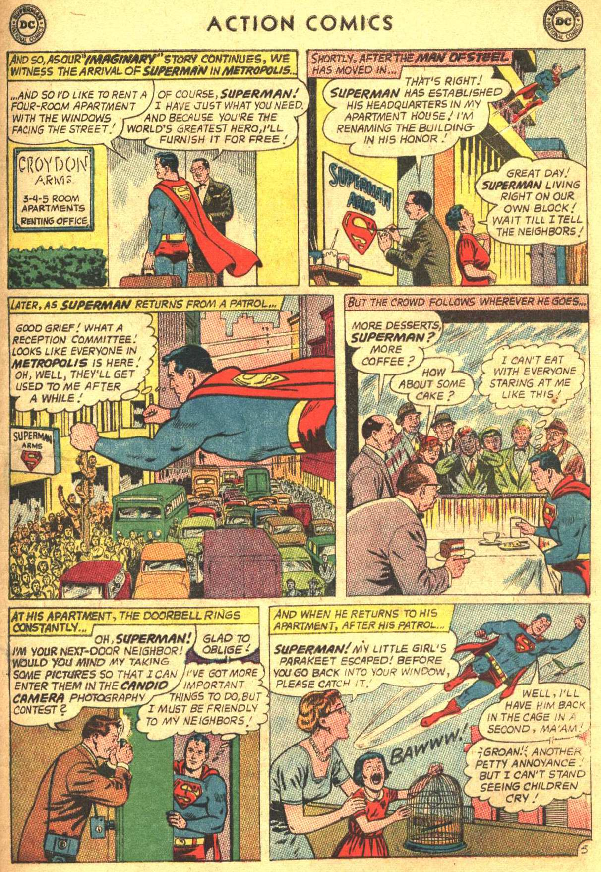 Read online Action Comics (1938) comic -  Issue #305 - 7