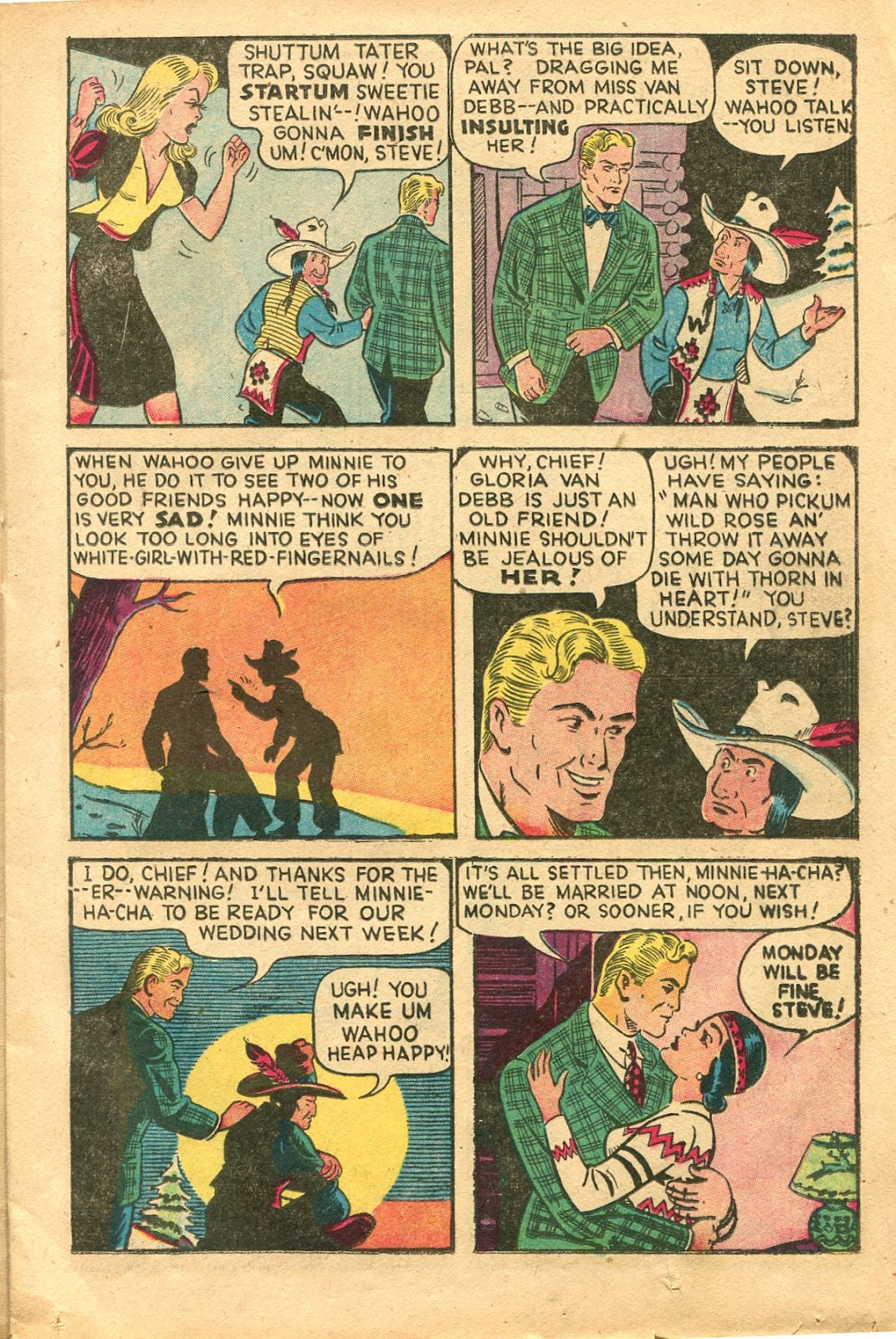 Read online Famous Funnies comic -  Issue #154 - 21