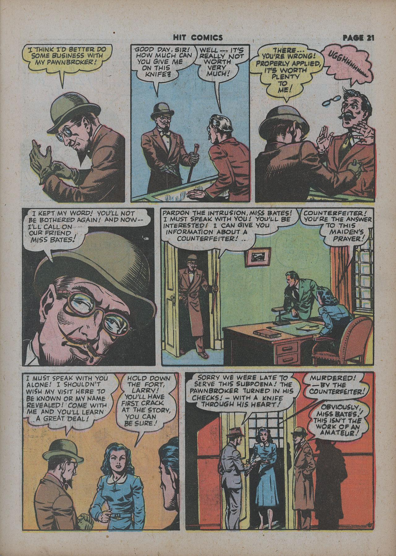 Read online Hit Comics comic -  Issue #27 - 23