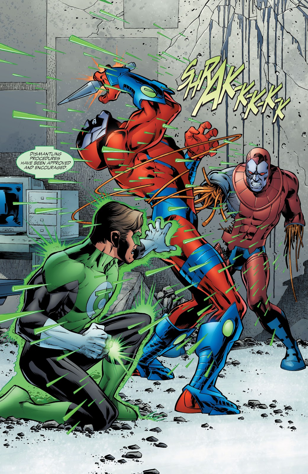 Read online Green Lantern by Geoff Johns comic -  Issue # TPB 1 (Part 4) - 49