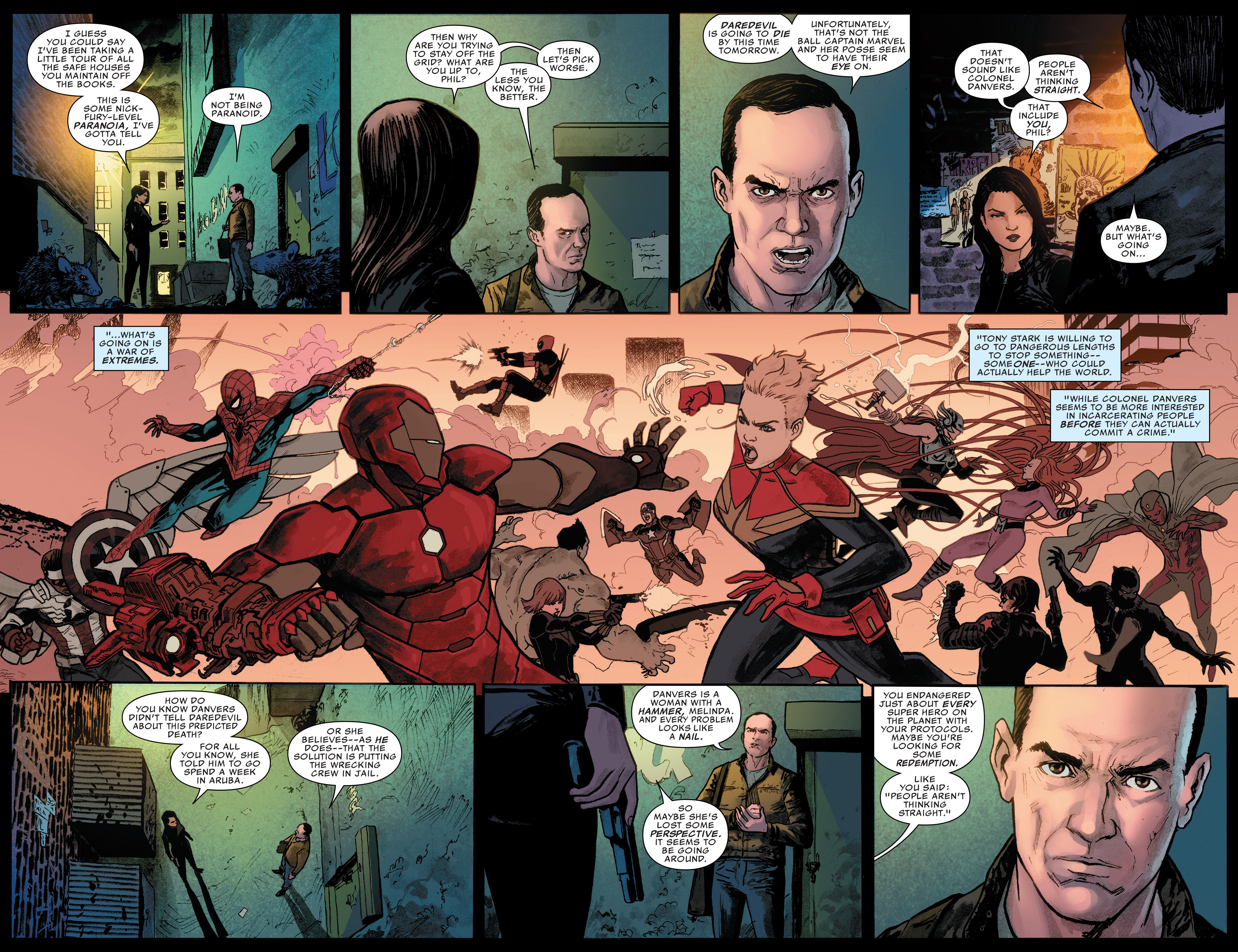 Read online Agents of S.H.I.E.L.D. comic -  Issue #8 - 8
