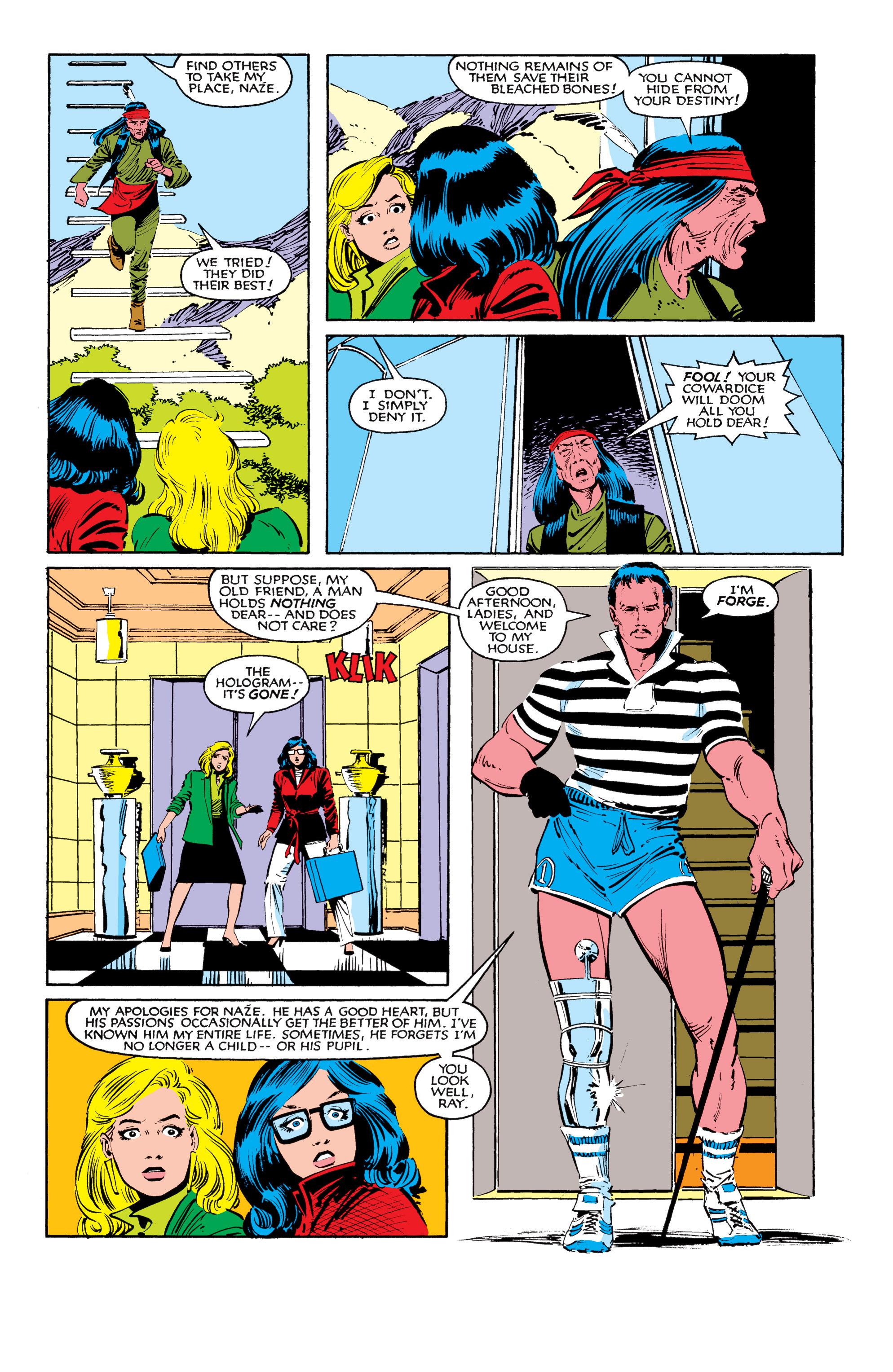 Read online Uncanny X-Men (1963) comic -  Issue #184 - 4
