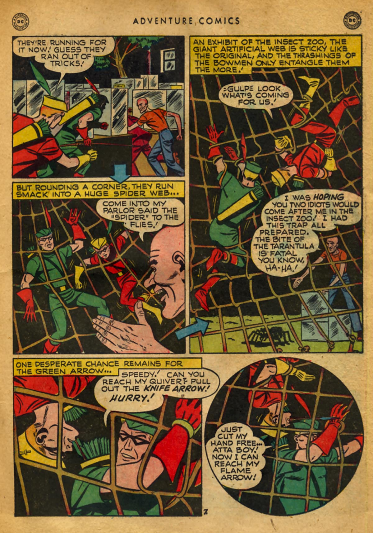 Read online Adventure Comics (1938) comic -  Issue #141 - 21