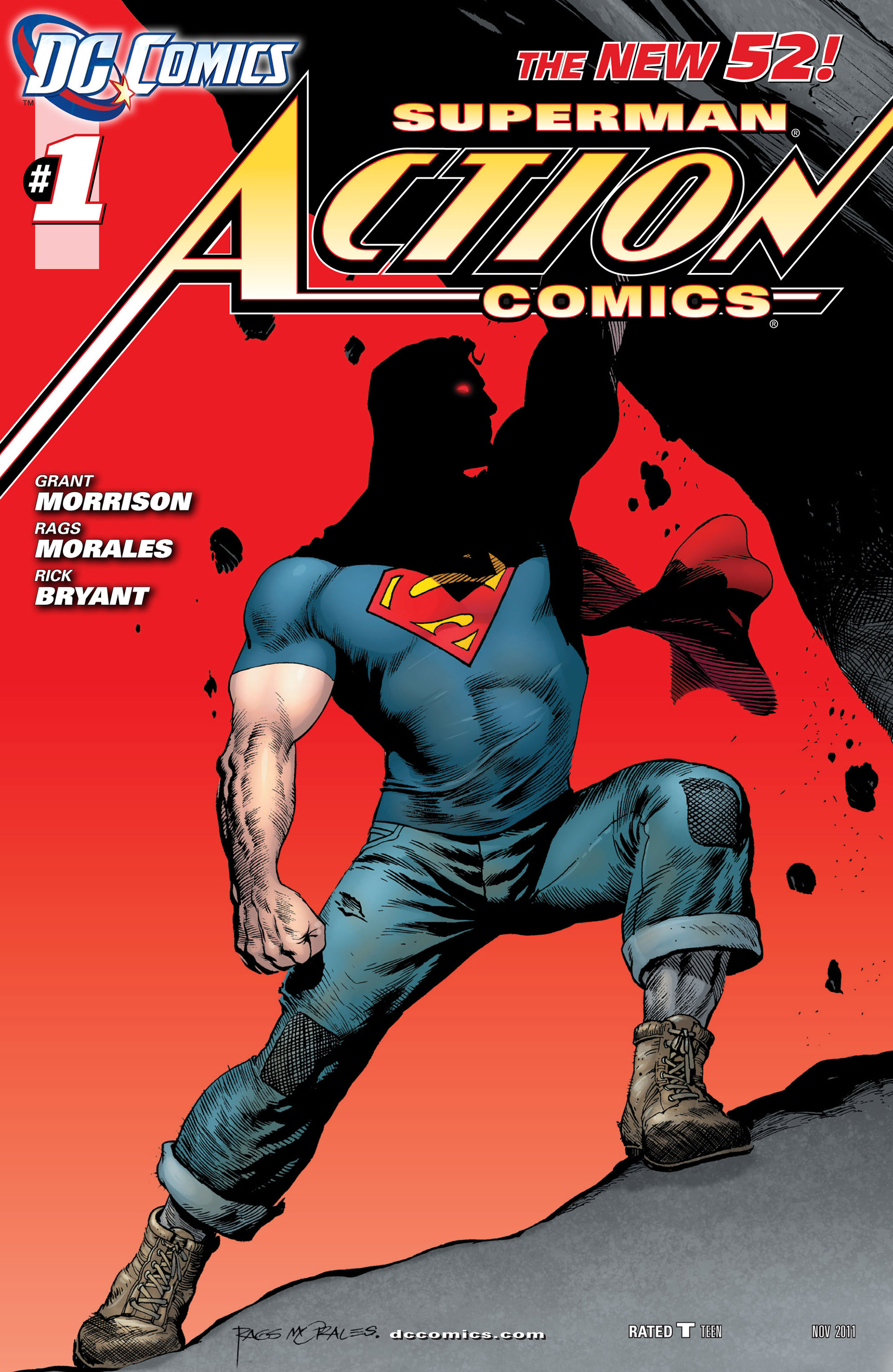 Read online Action Comics (2011) comic -  Issue #1 - 4