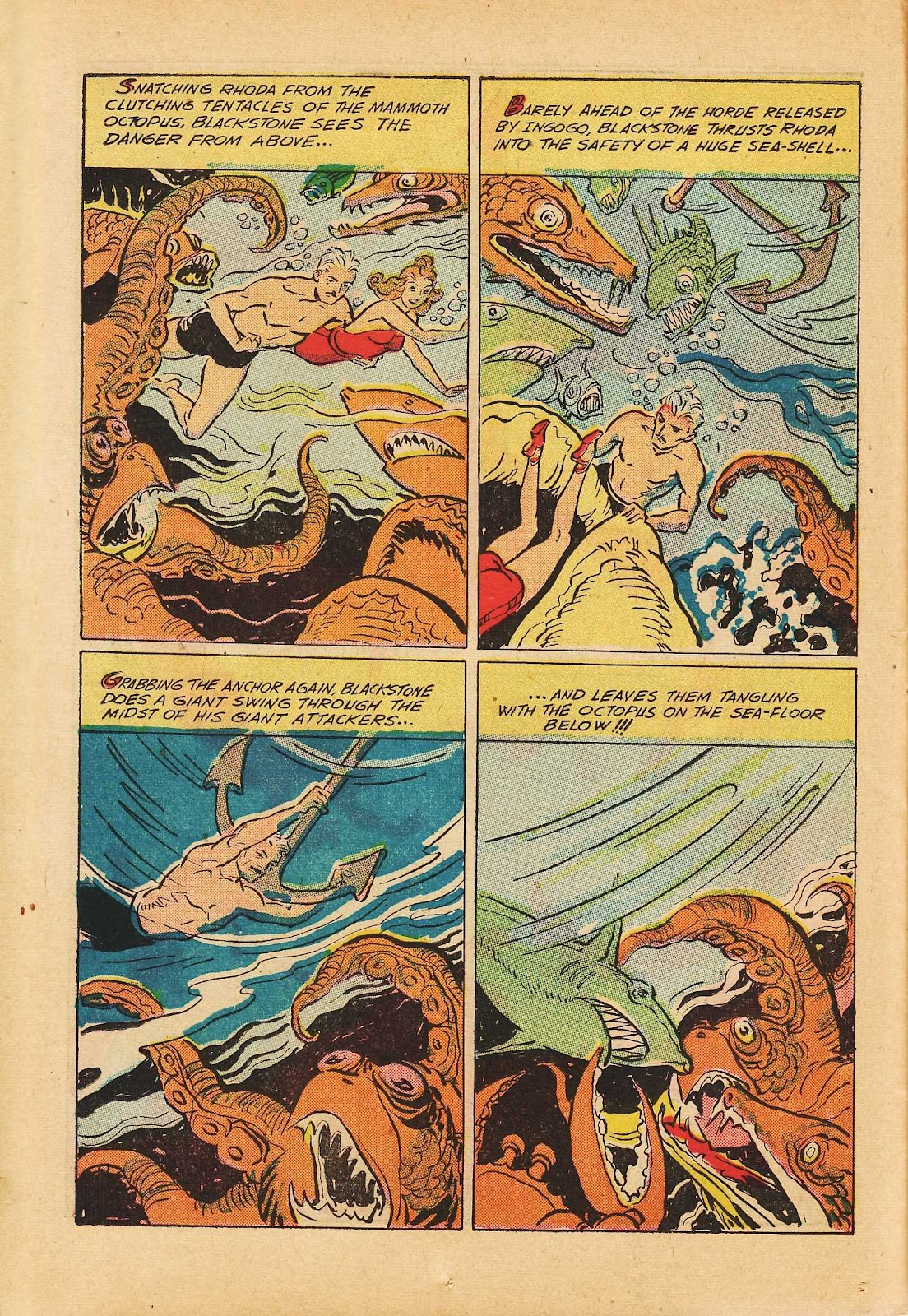 Super-Magician Comics issue 22 - Page 24