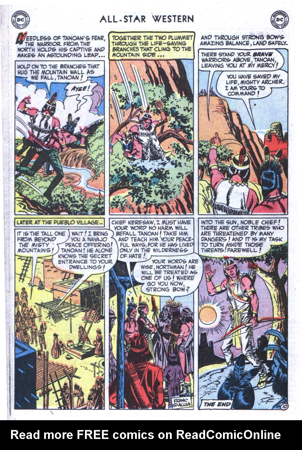Read online All-Star Western (1951) comic -  Issue #59 - 48