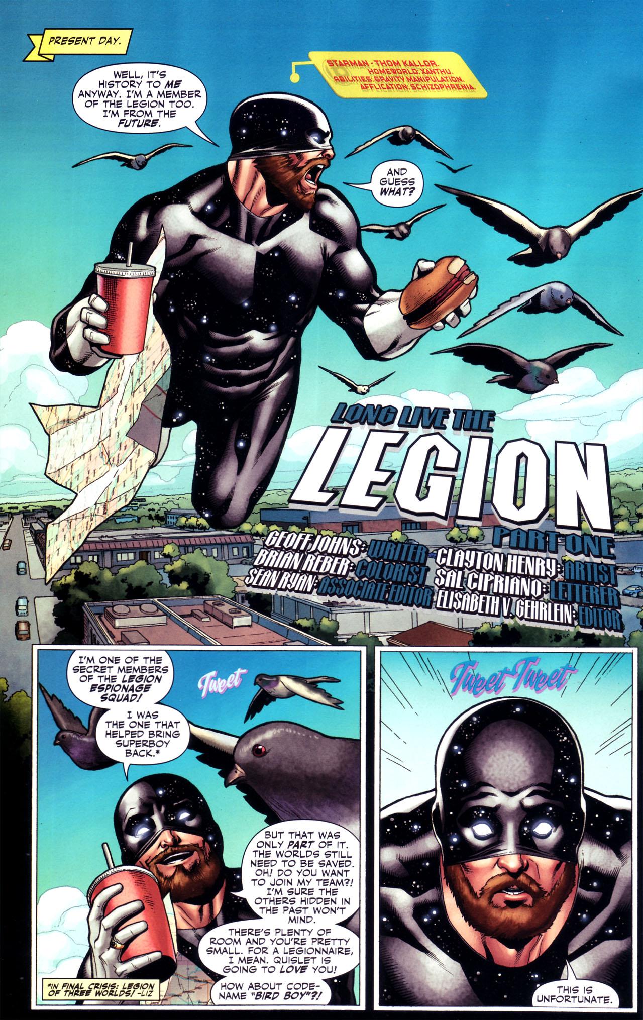 Read online Adventure Comics (2009) comic -  Issue #1 - 25