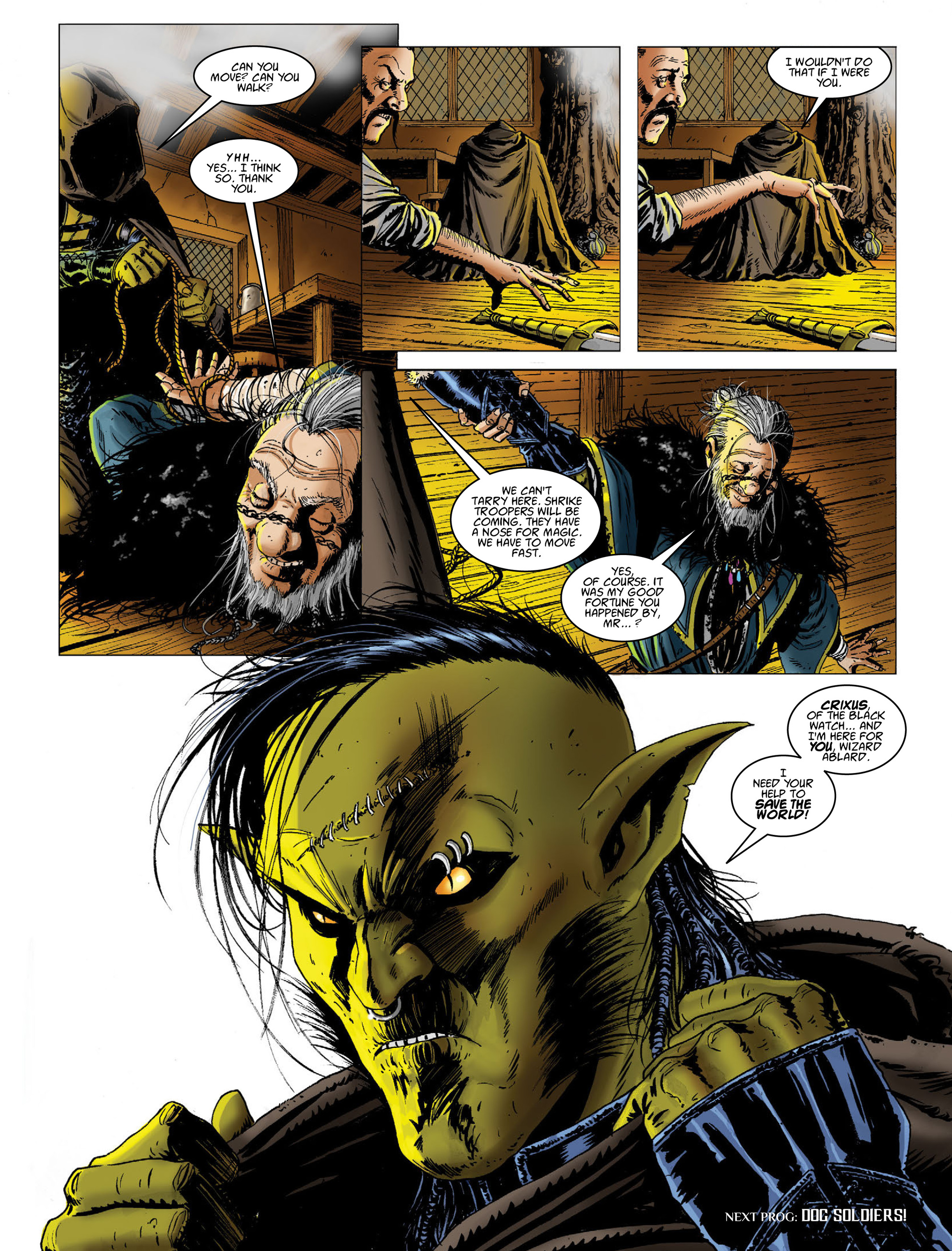 Read online 2000 AD comic -  Issue #2011 - 26