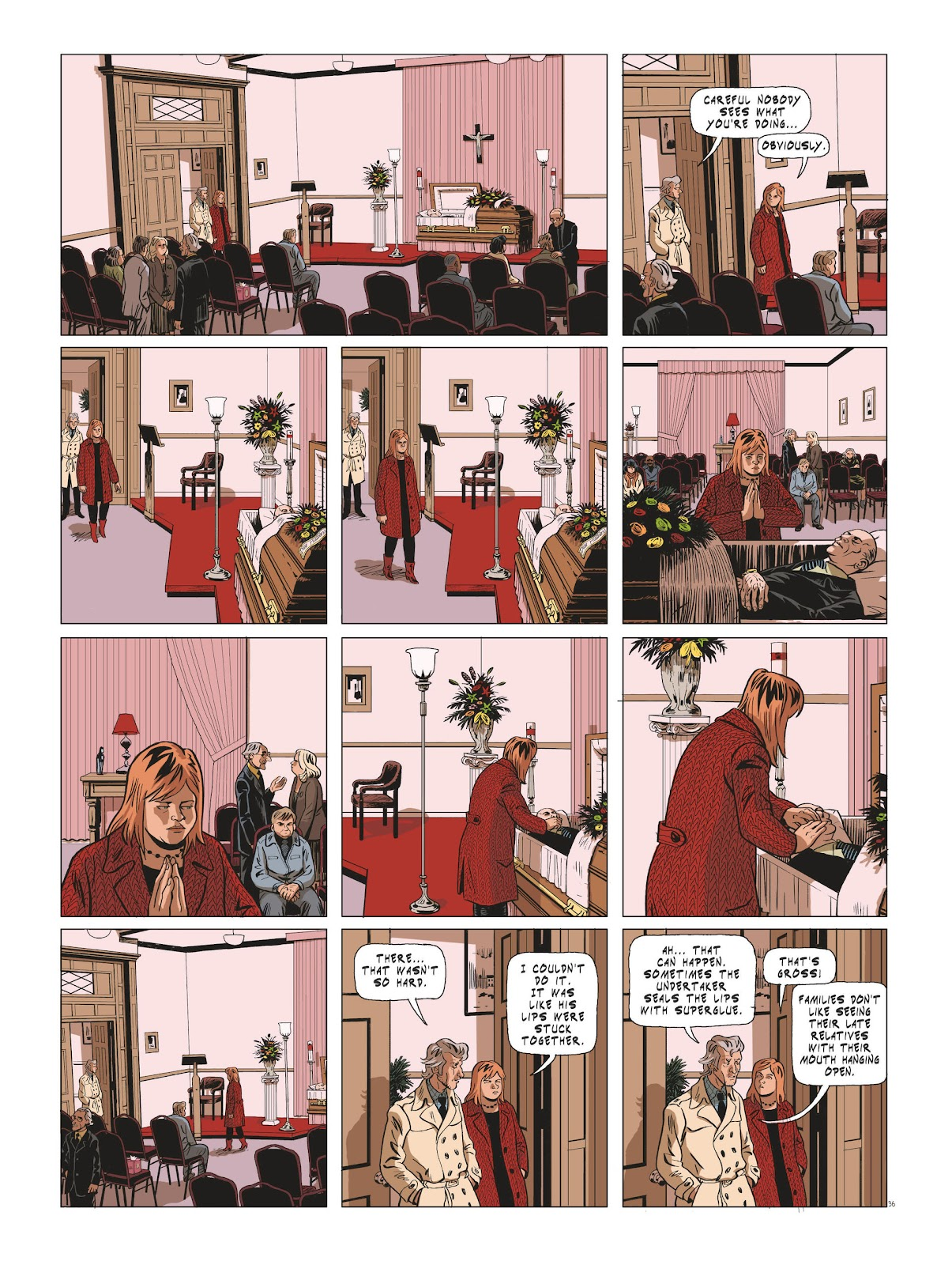 Read online Maggy Garrisson comic -  Issue #3 - 38