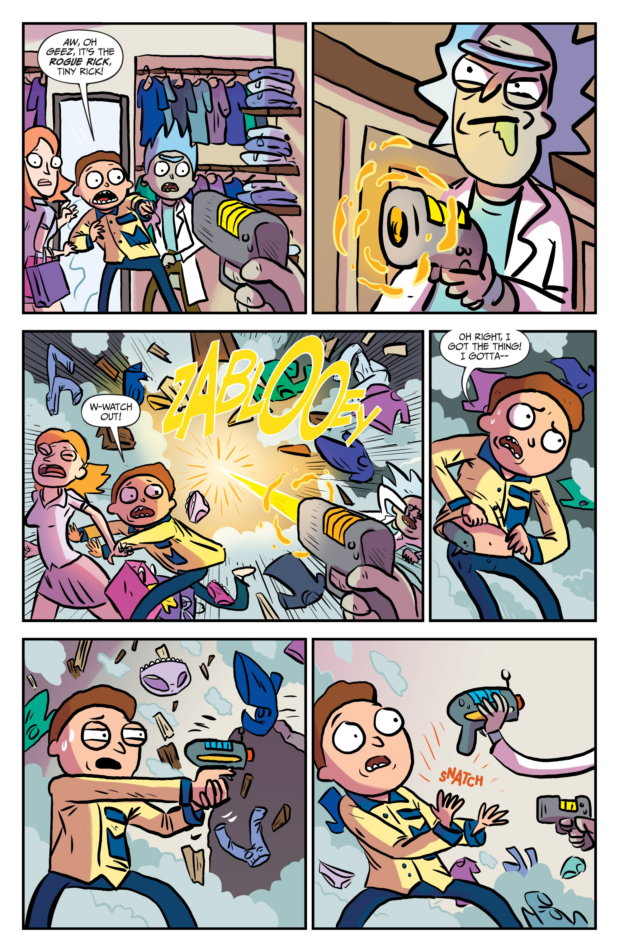 Read online Rick and Morty comic -  Issue #25 - 10
