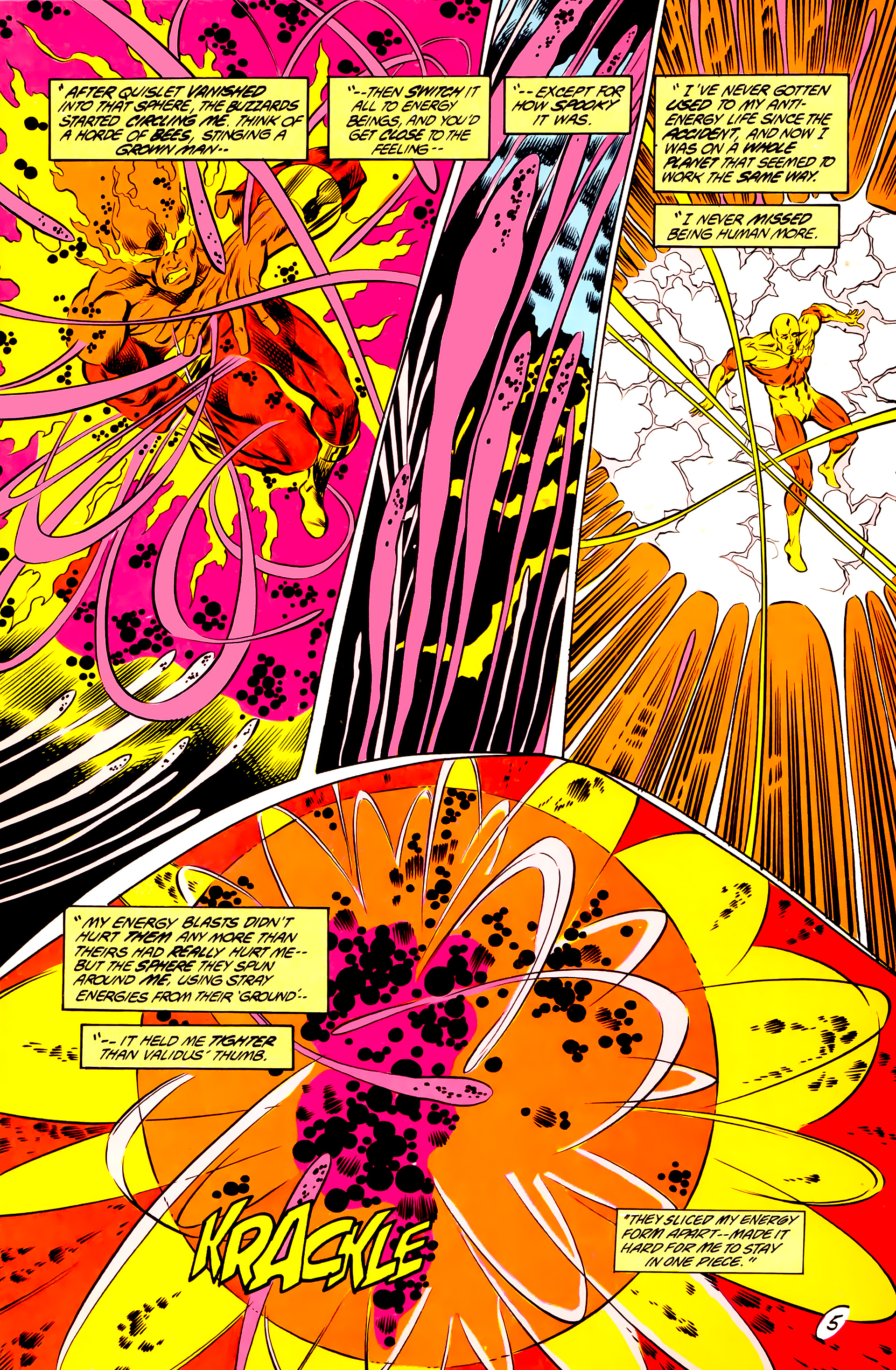 Legion of Super-Heroes (1984) 44 Page 5