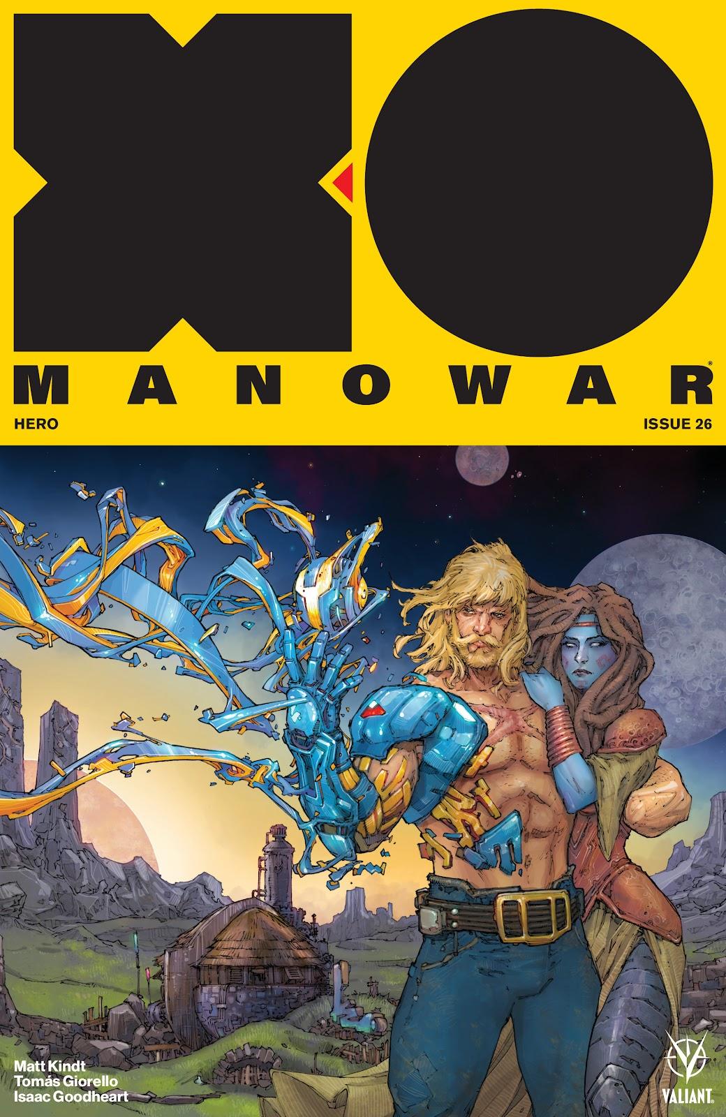 Read online X-O Manowar (2017) comic -  Issue #26 - 1
