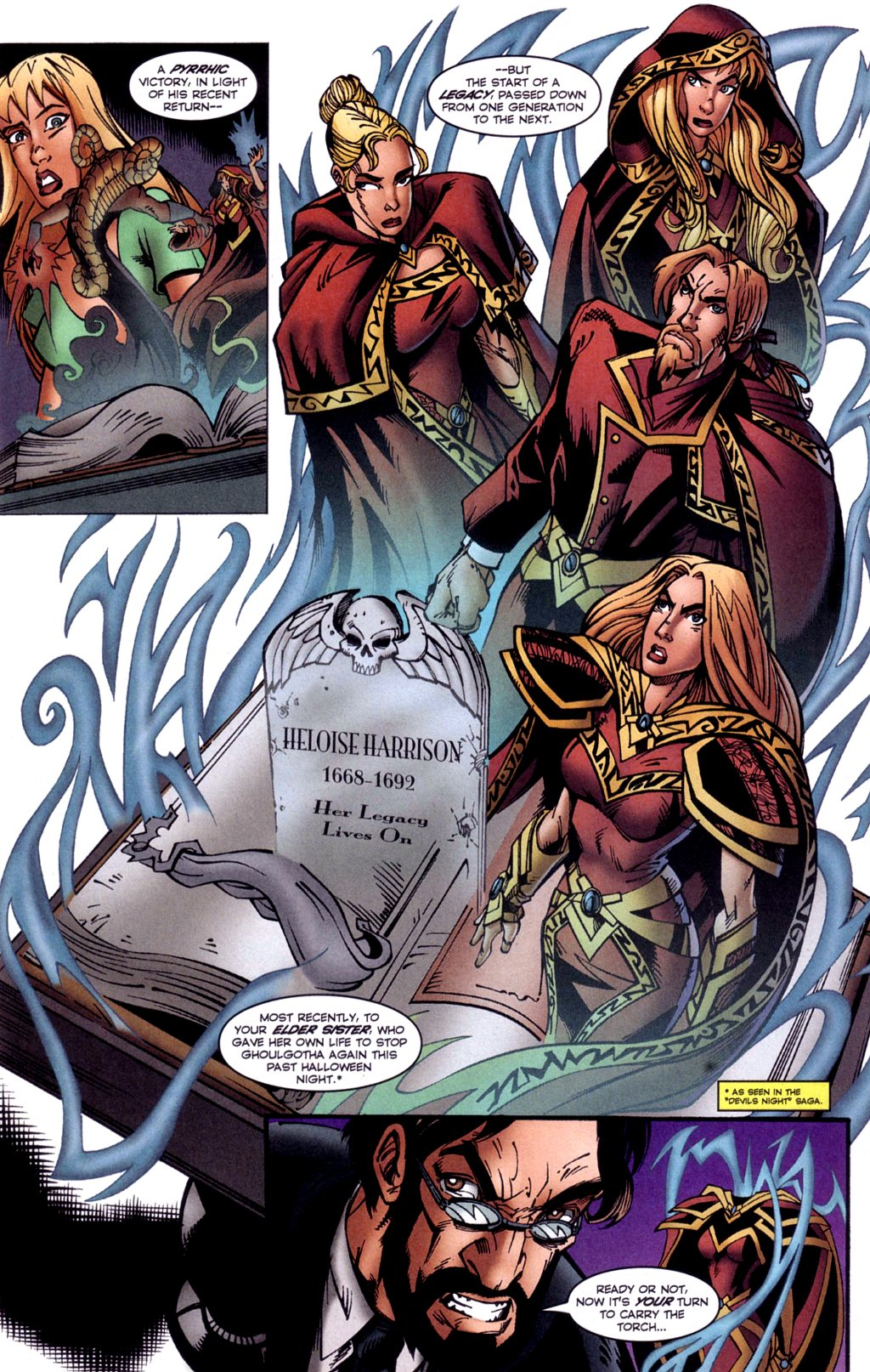 Read online Jezebelle comic -  Issue #2 - 8