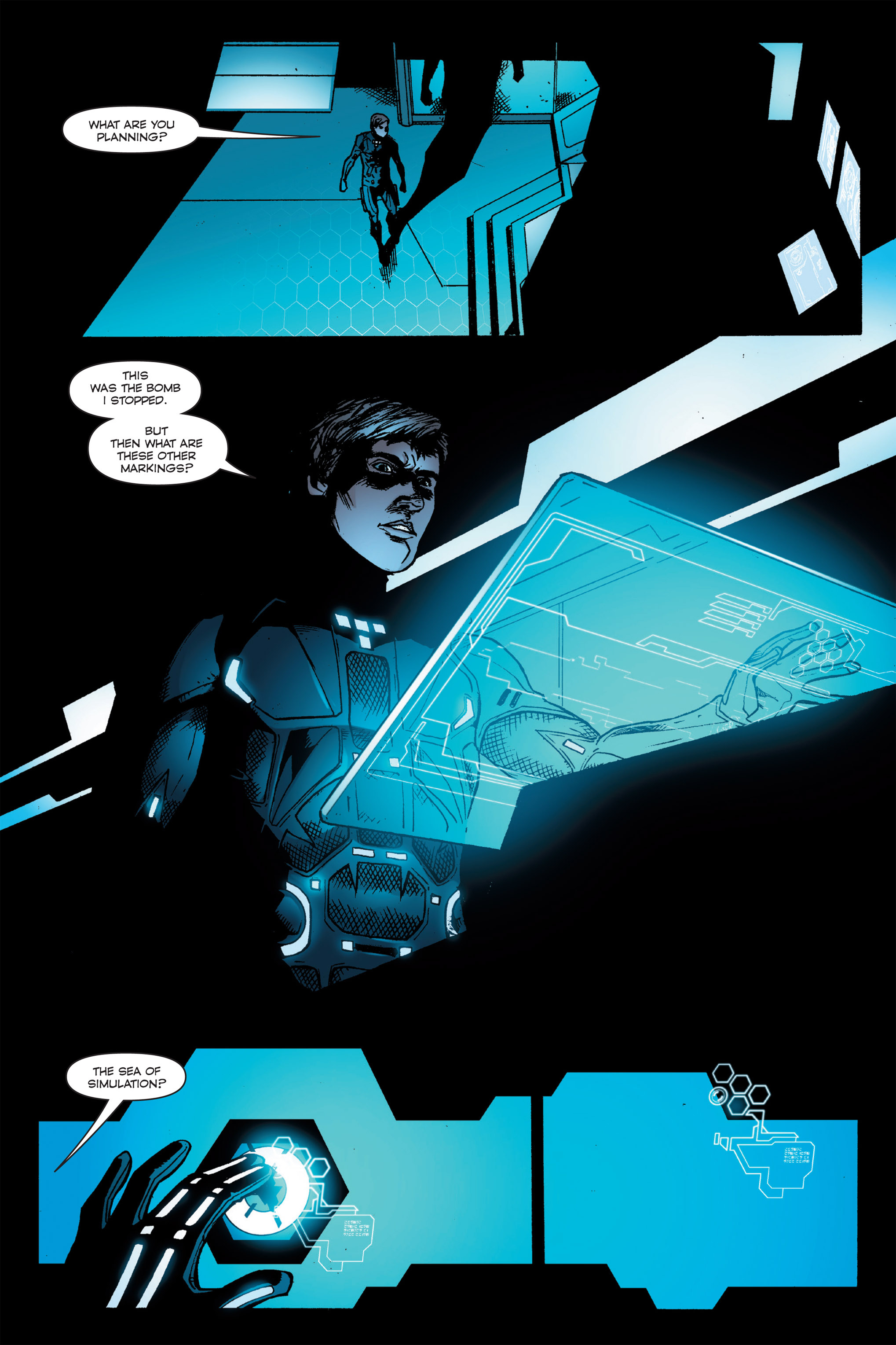 Read online TRON: Betrayal comic -  Issue # TPB - 96