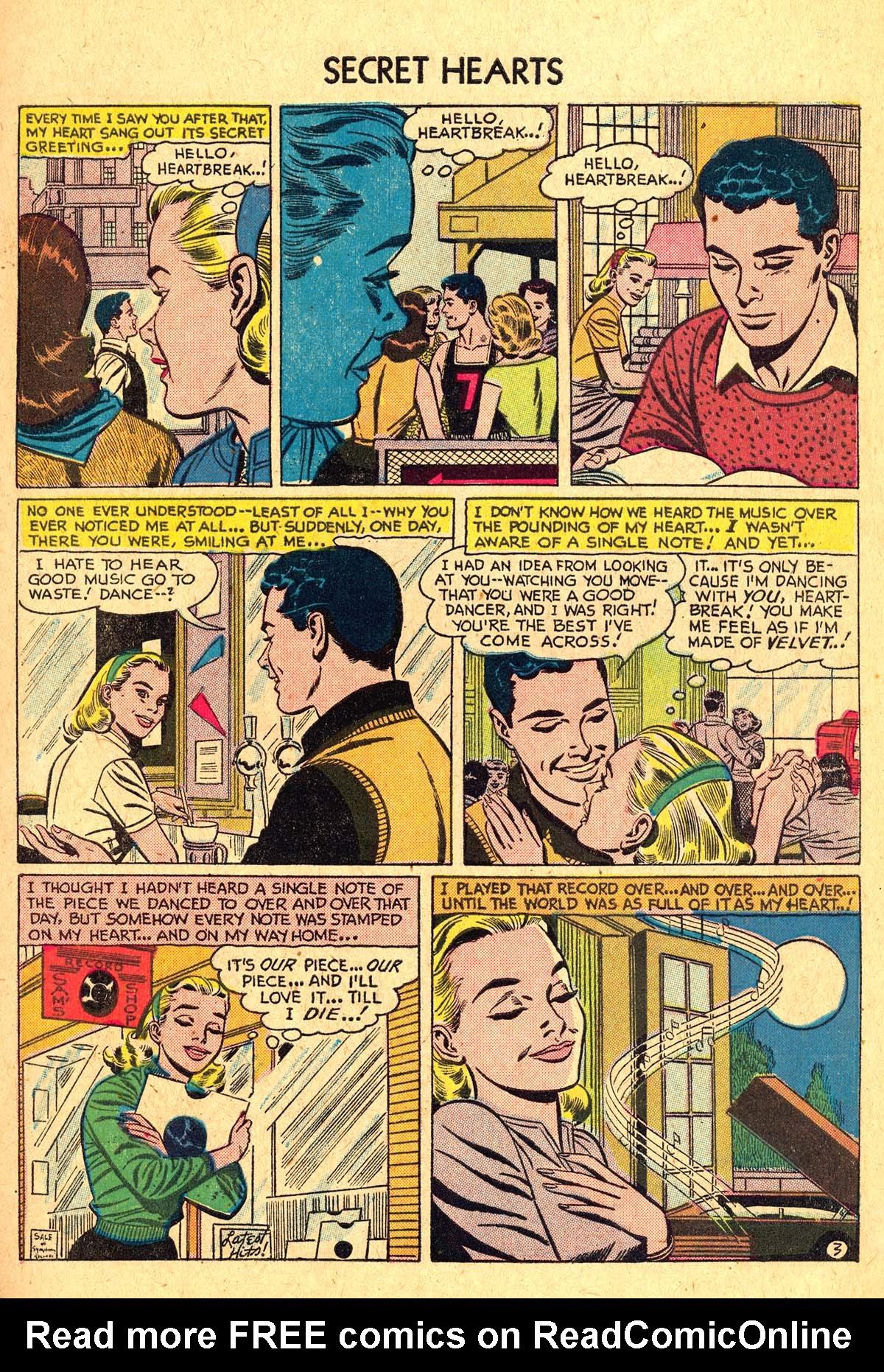 Read online Secret Hearts comic -  Issue #40 - 5
