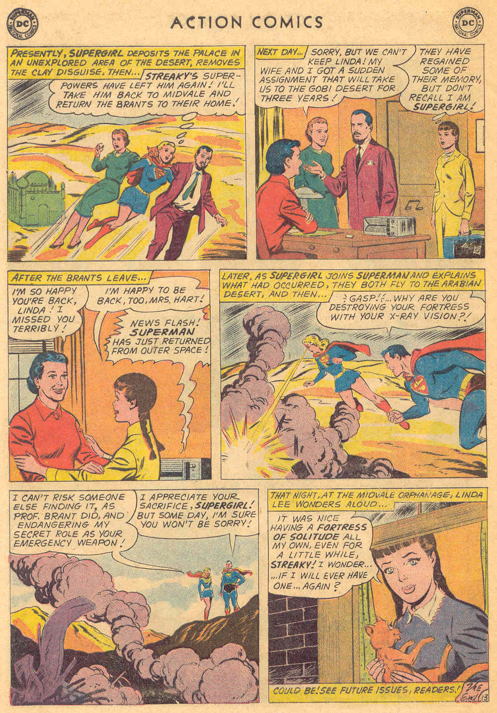 Read online Action Comics (1938) comic -  Issue #271 - 32