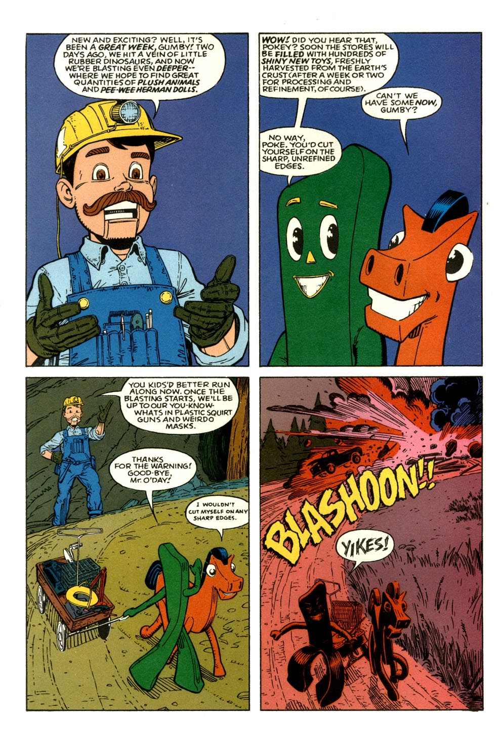 Gumby's Winter Fun Special issue Full - Page 6