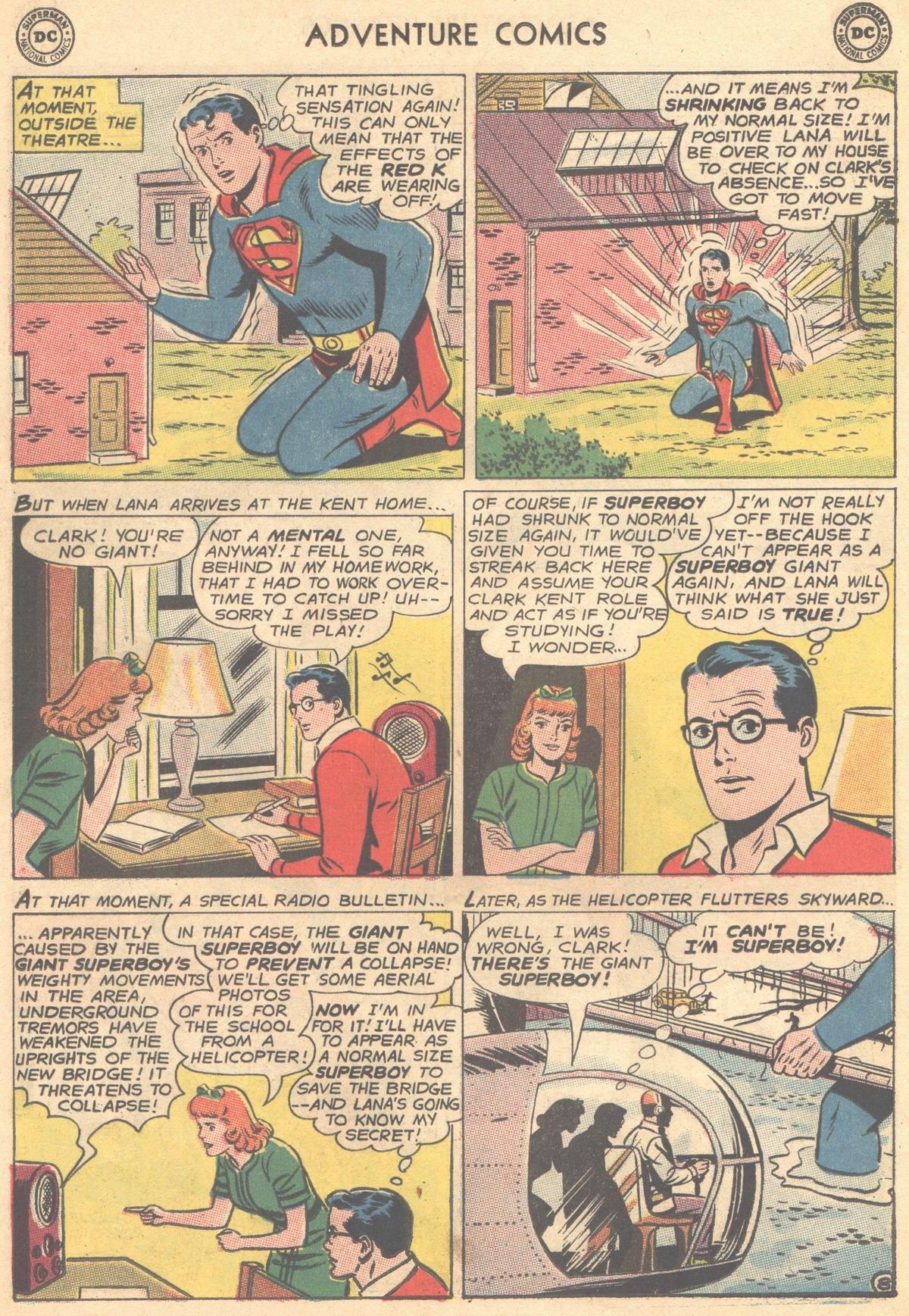 Read online Adventure Comics (1938) comic -  Issue #315 - 30