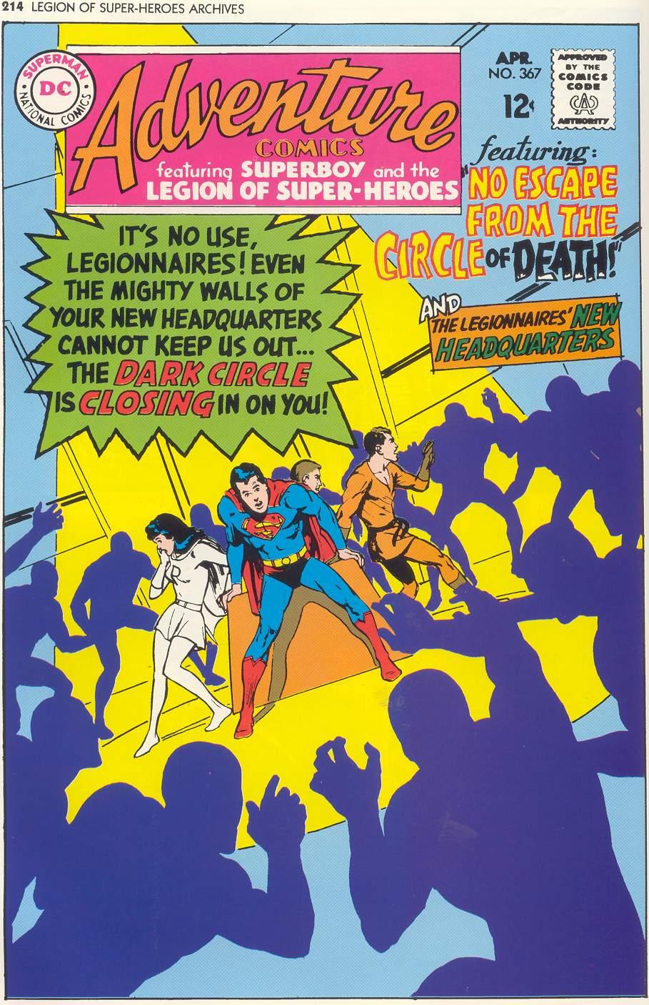 Read online Adventure Comics (1938) comic -  Issue #367 - 1