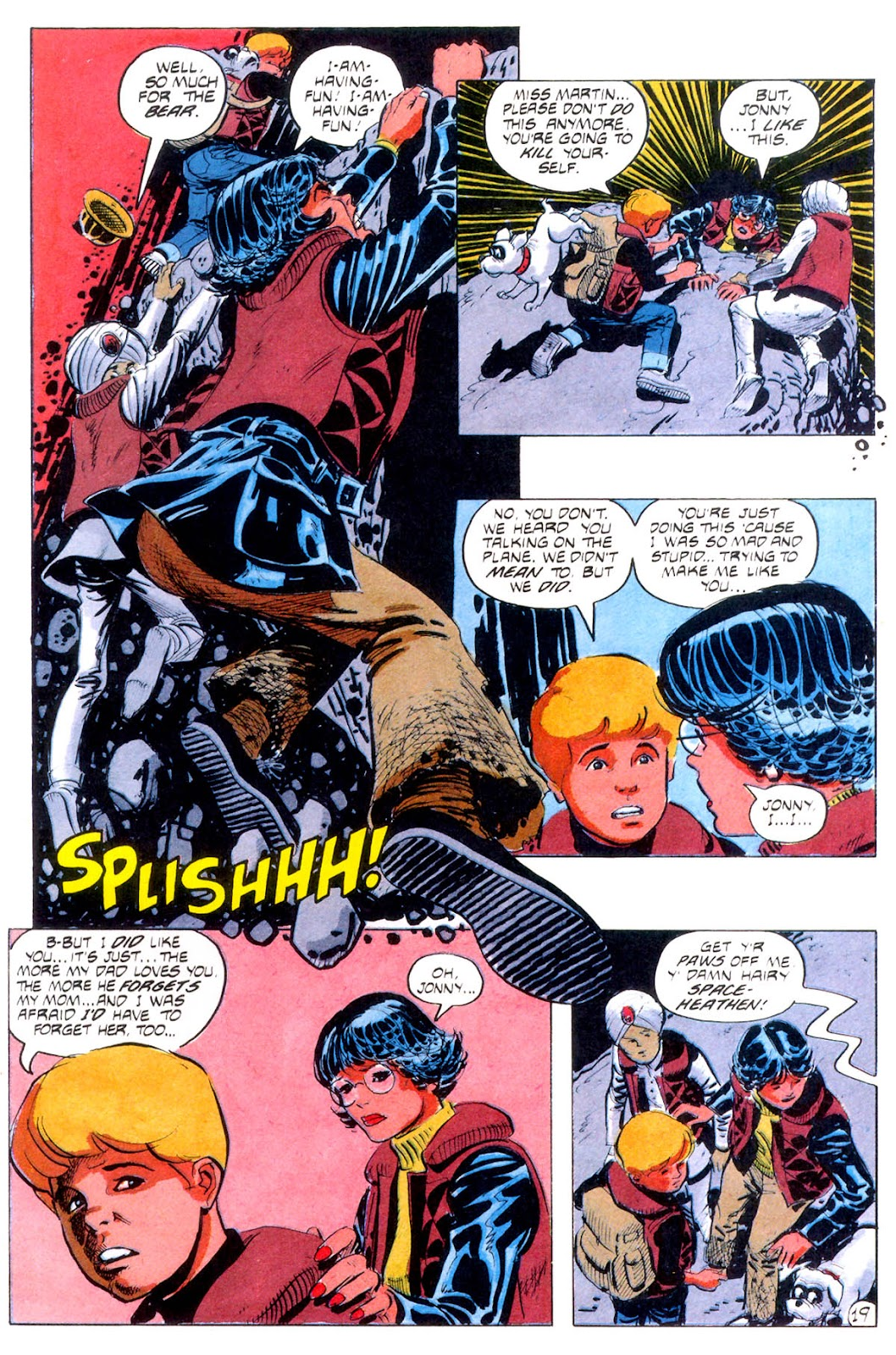 Jonny Quest (1986) issue 12 - Page 22