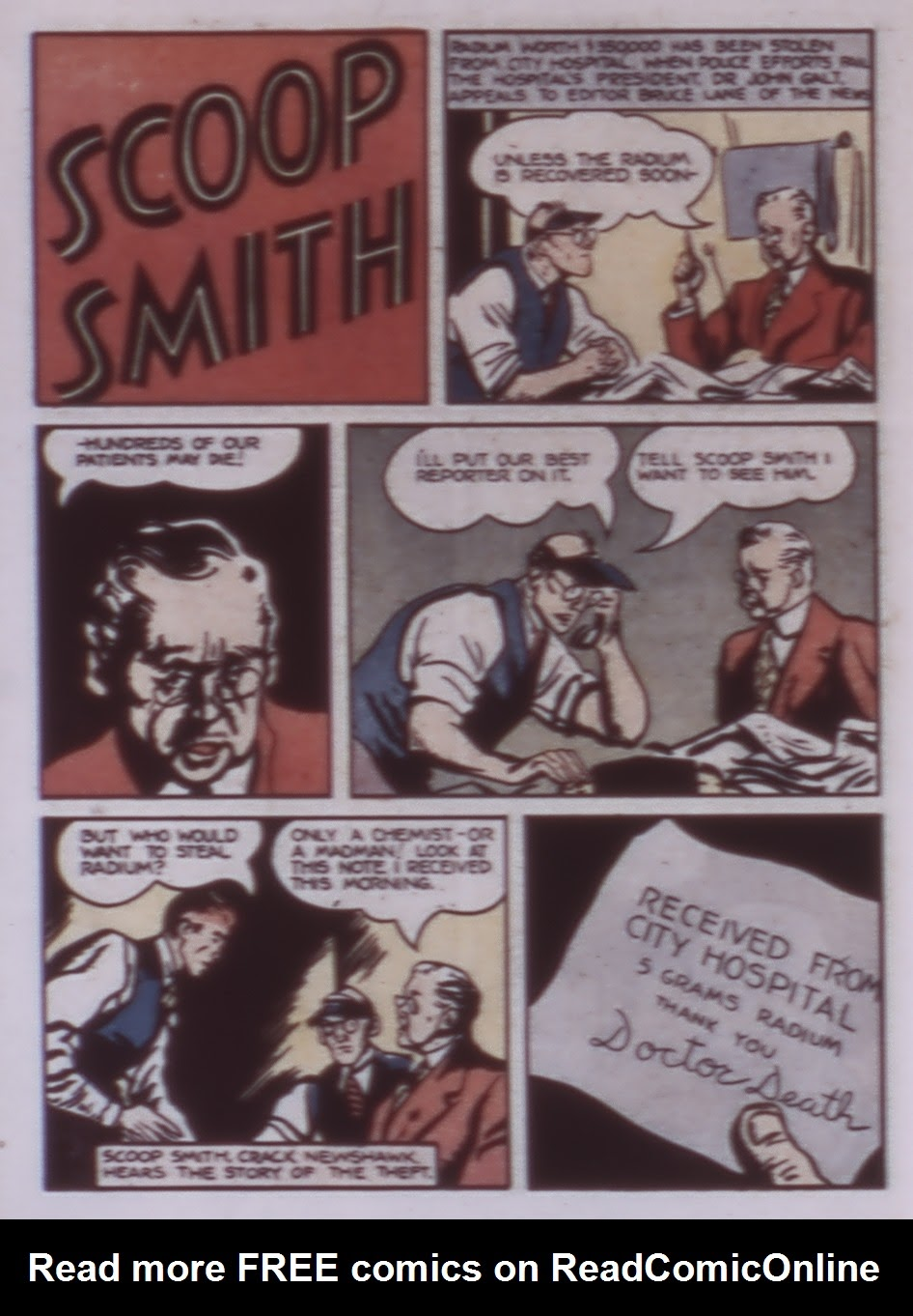 Read online WHIZ Comics comic -  Issue #1 - 42