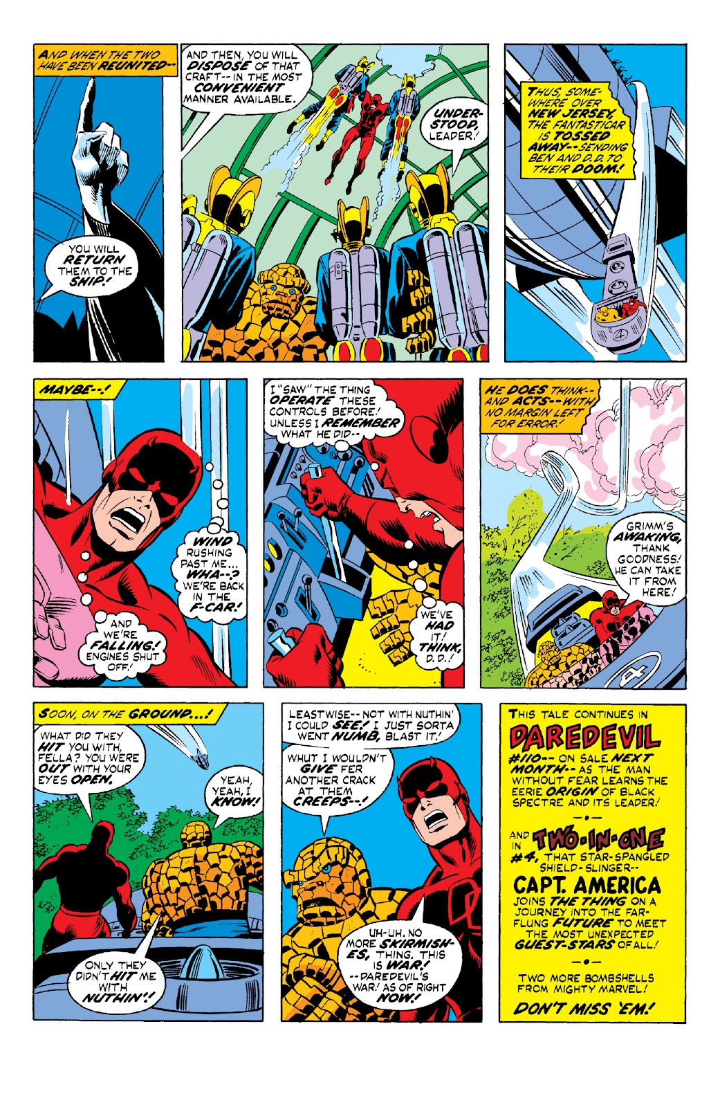Read online Marvel Two-In-One Epic Collection: Cry Monster comic -  Issue # TPB (Part 2) - 4