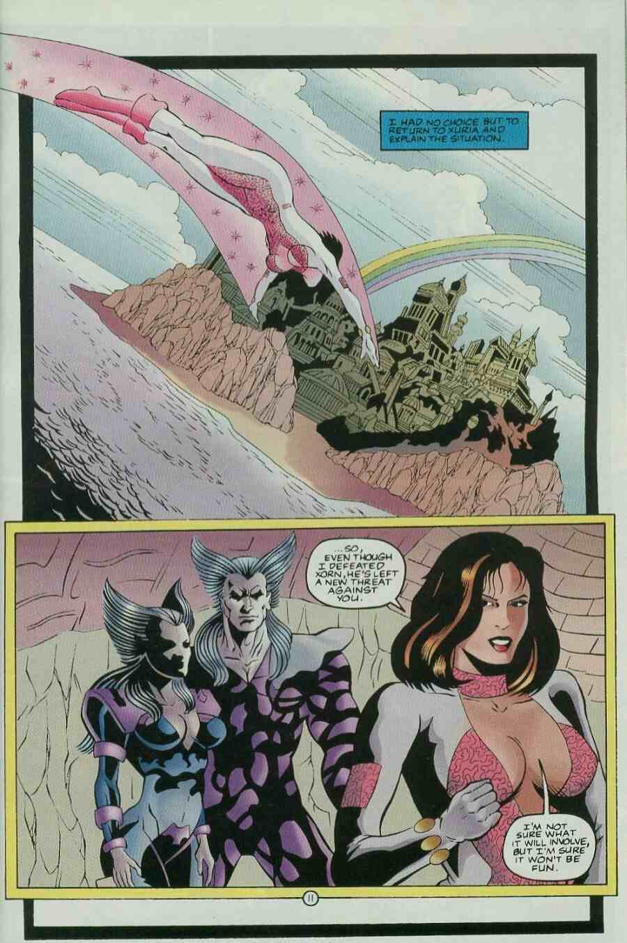 Read online Ultraverse Premiere comic -  Issue #9 - 13
