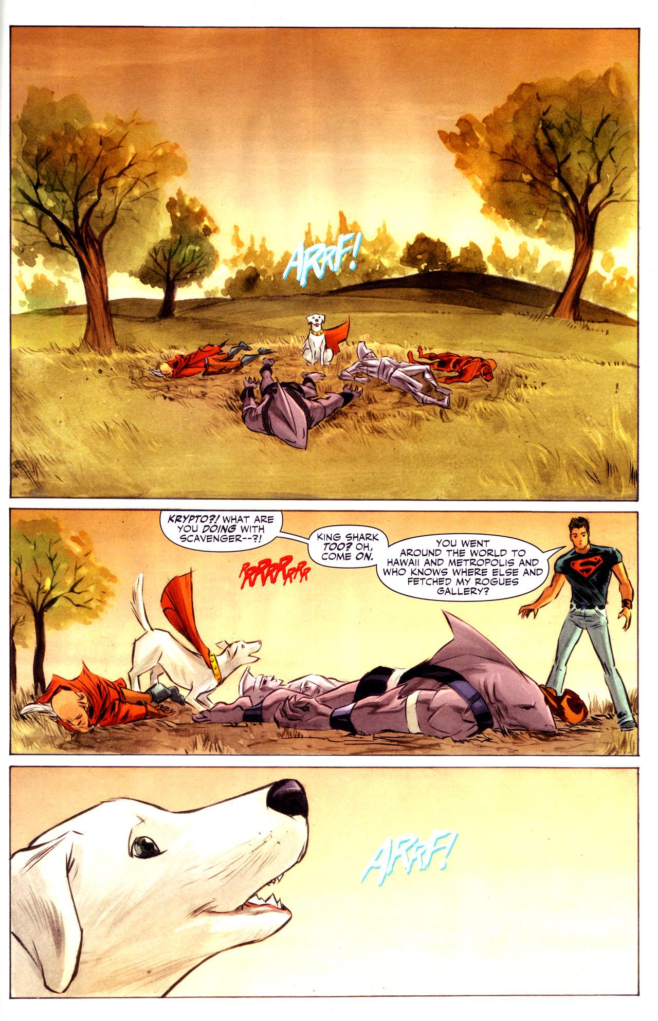 Read online Adventure Comics (2009) comic -  Issue #3 - 7